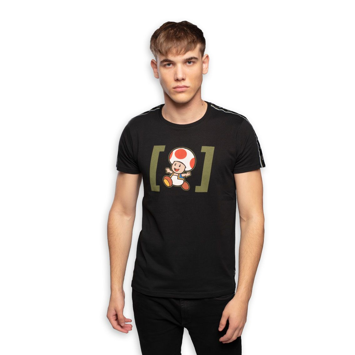 T-shirt homme super mario toad (photo)