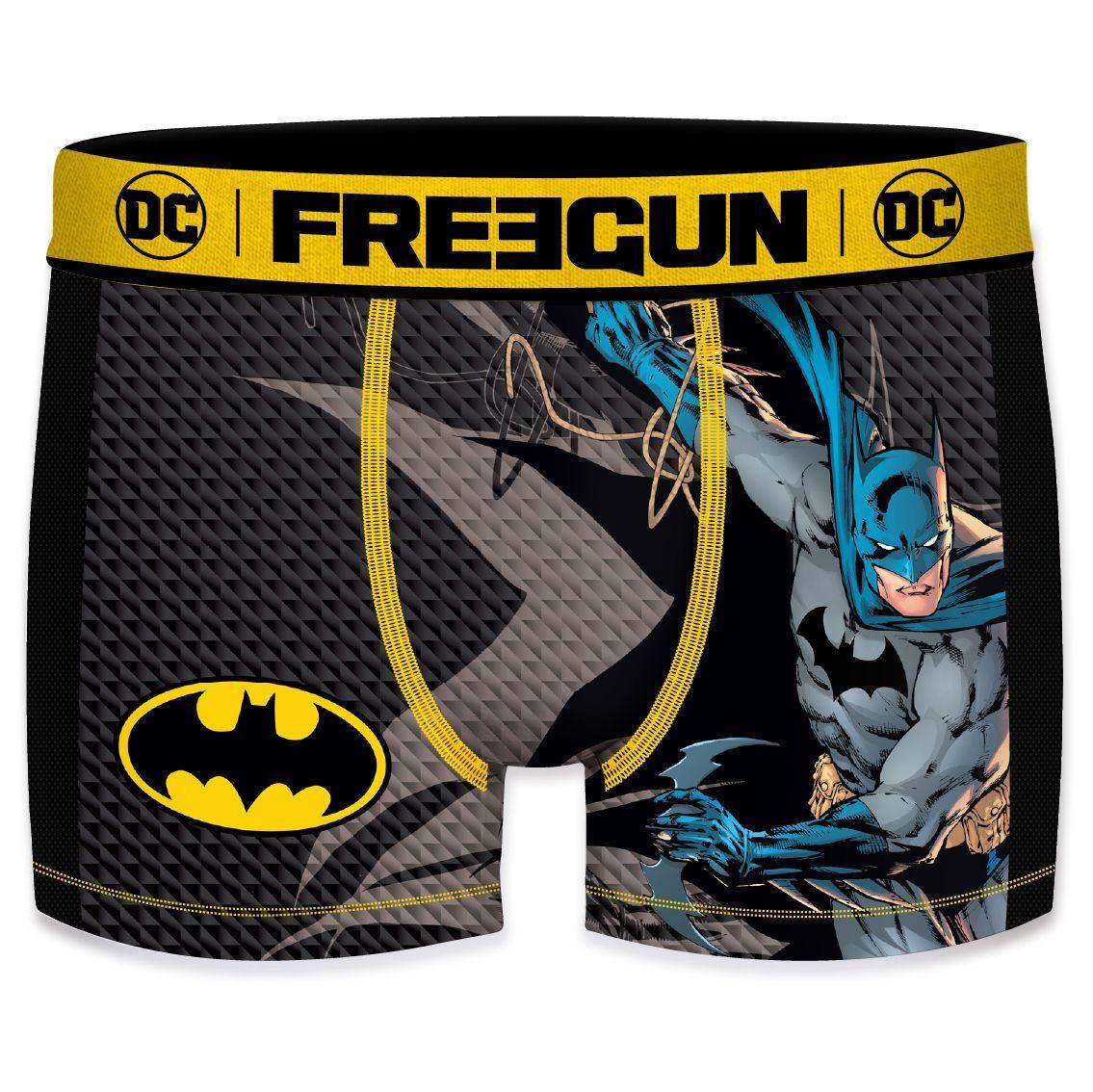 Boxer freegun garçon aktiv dc comics batman mesh 2 cote (photo)