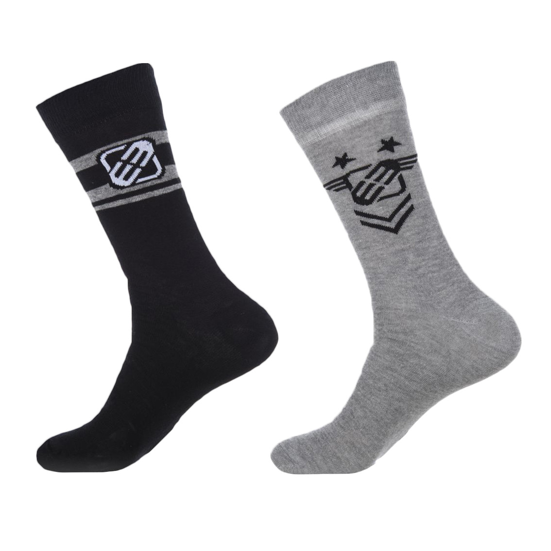 Lot de 2 paires de chaussettes homme army