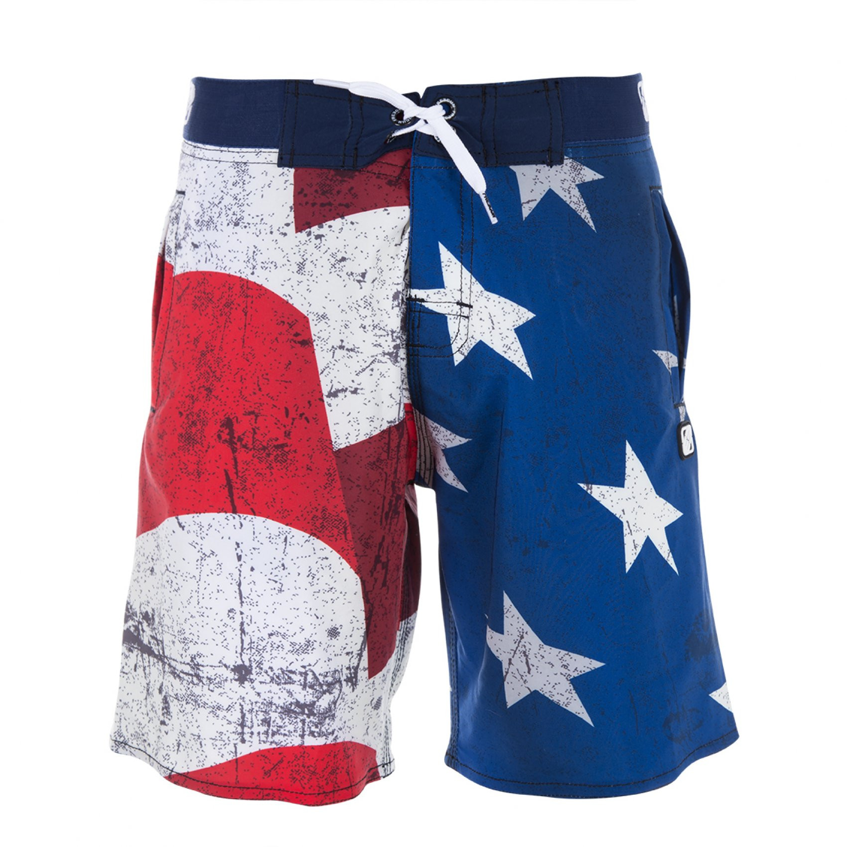 Boardshort garçon flag us freegun (photo)
