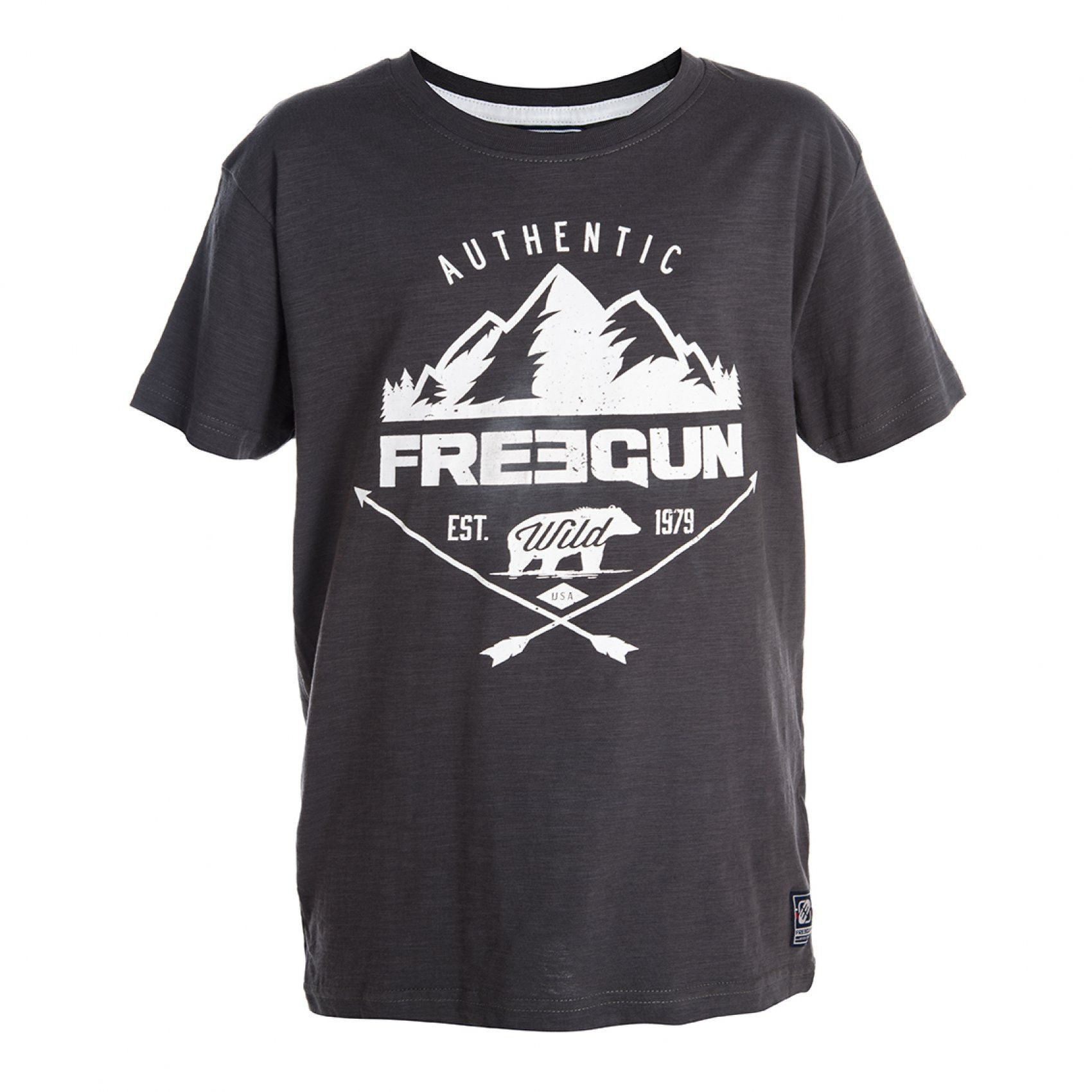 T-shirt garçon mountain freegun (photo)
