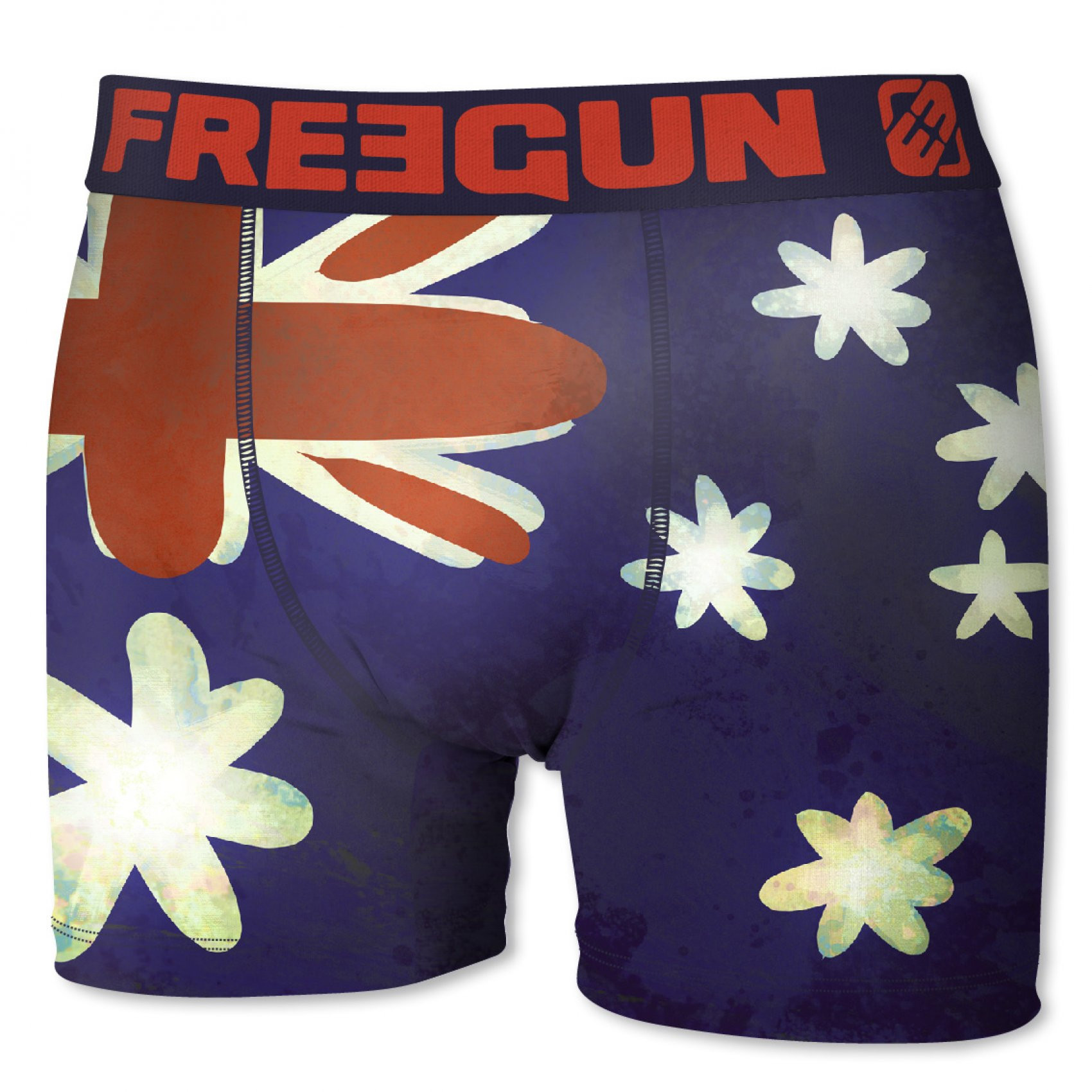 Boxer garçon australie flag (photo)