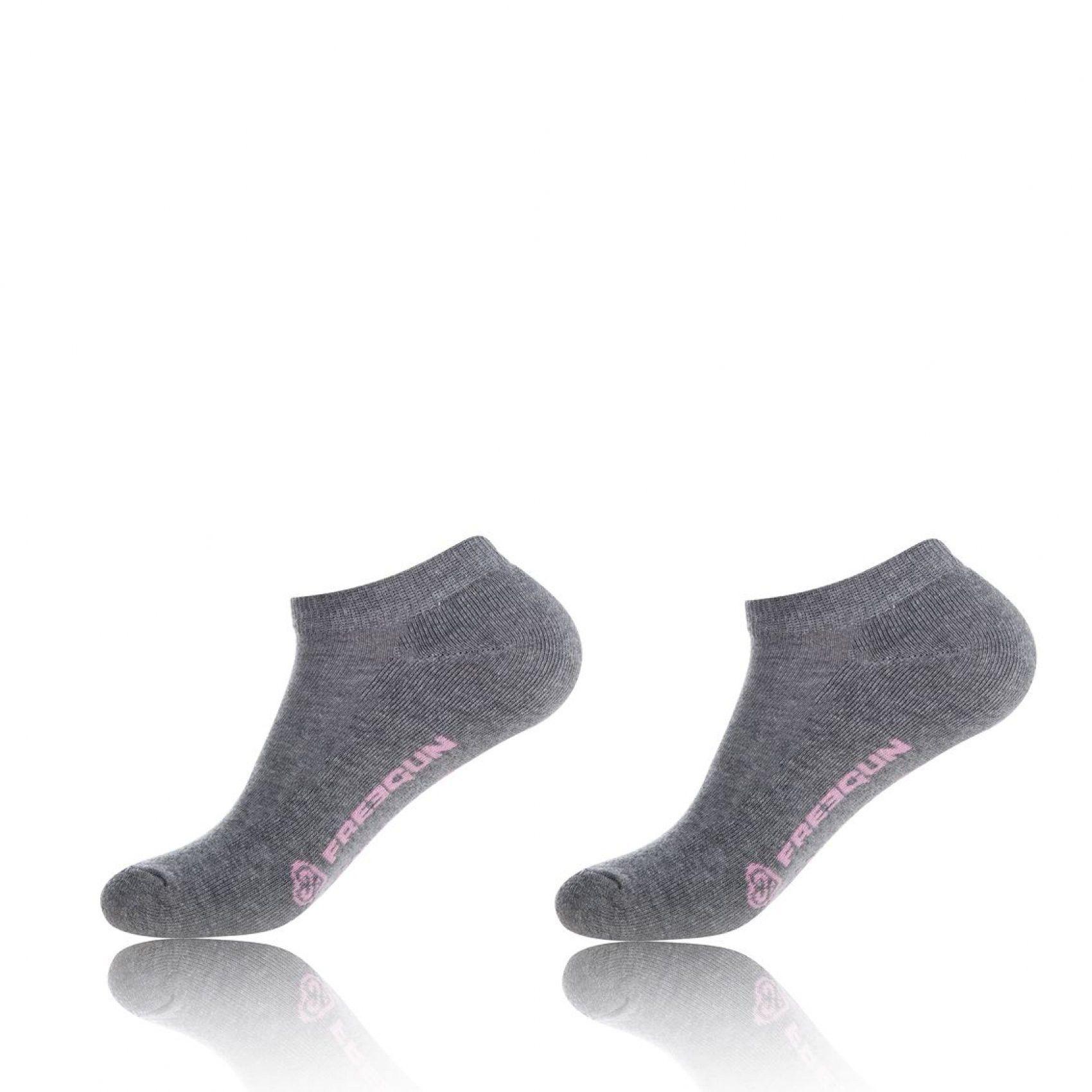 Lot de 2 paires de chaussettes freegun femme maille bouclette