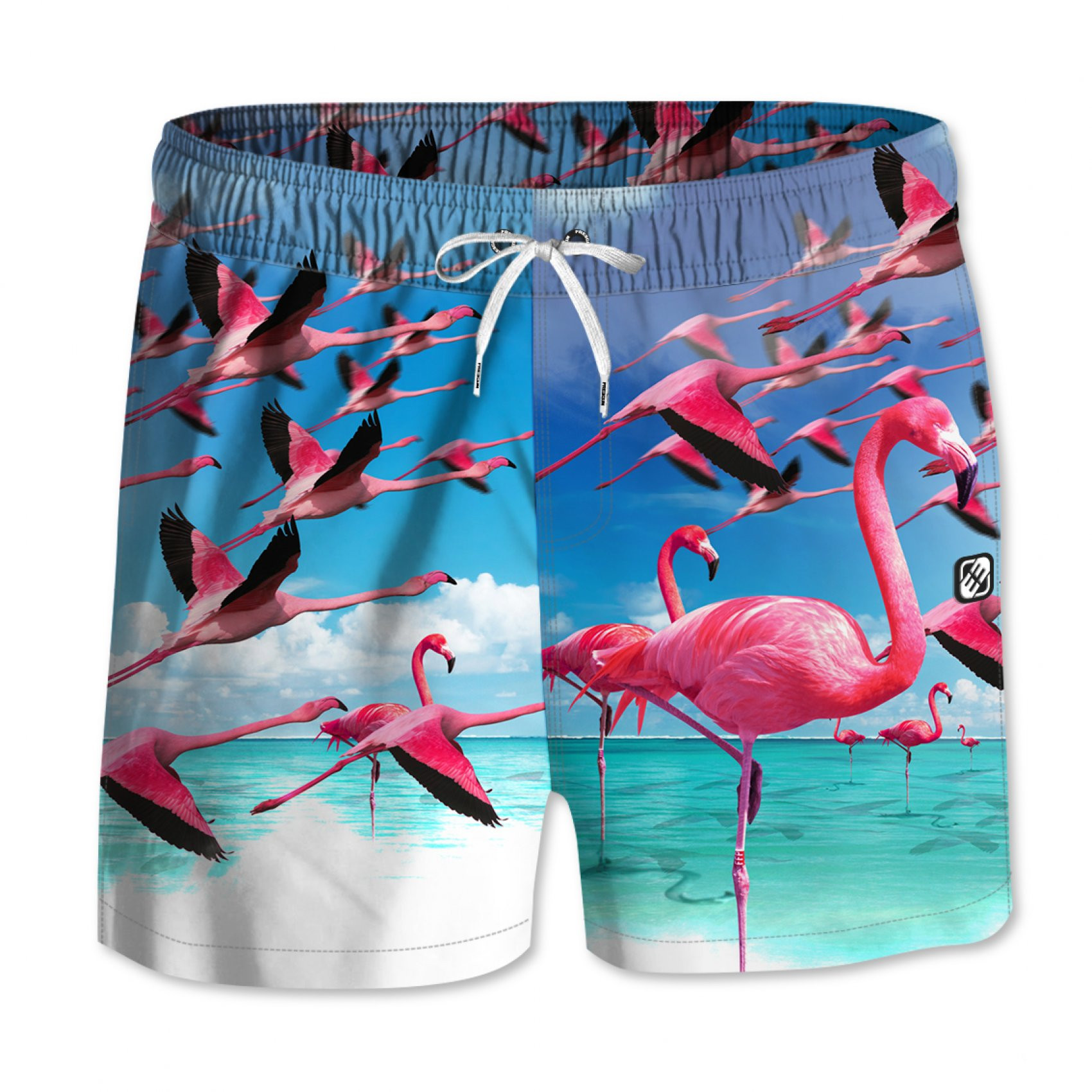 Boardshort garçon court freegun (photo)
