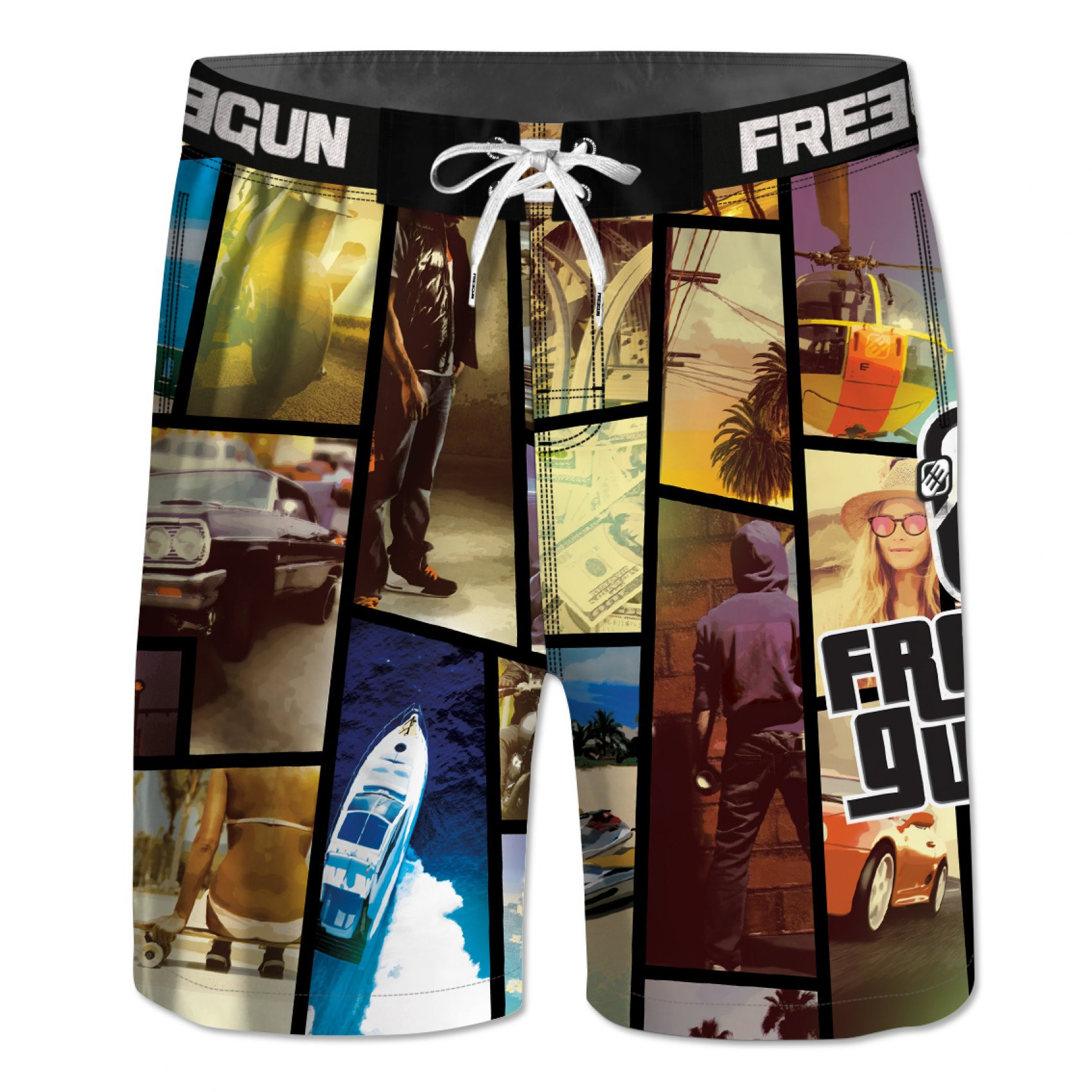 Boardshort garçon long freegun (photo)