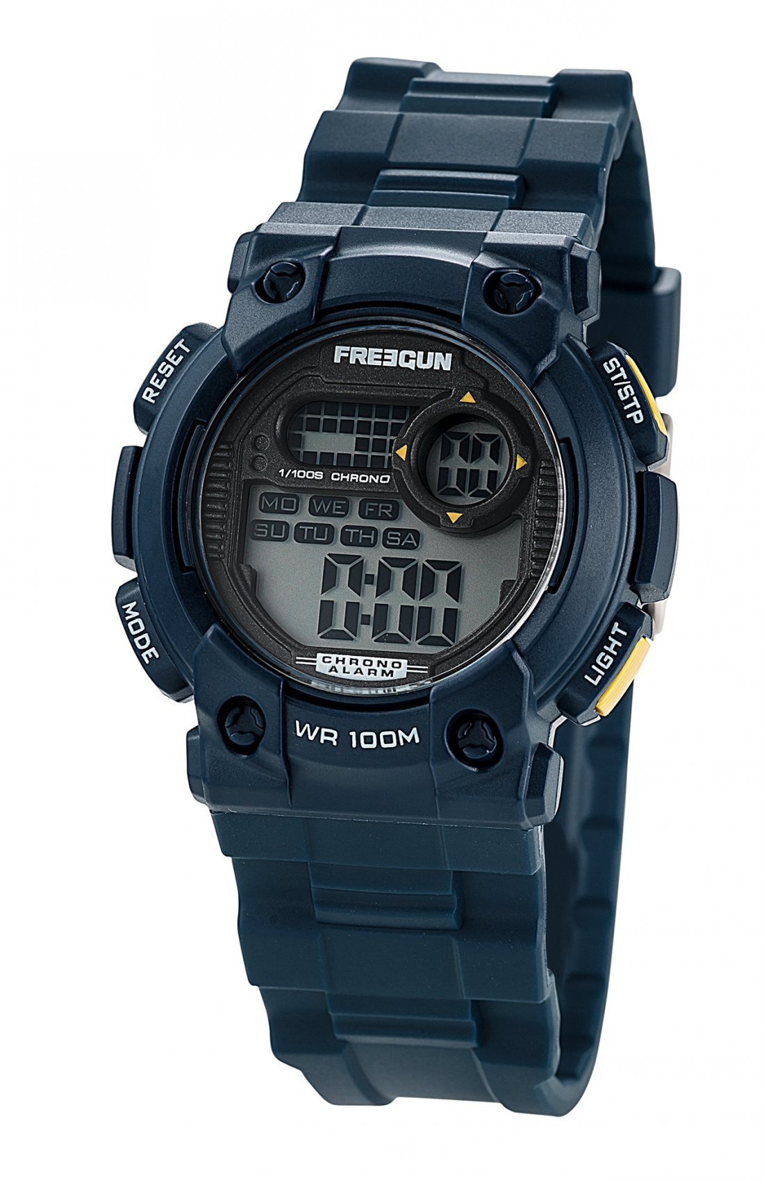 Montre lazer noire freegun (photo)