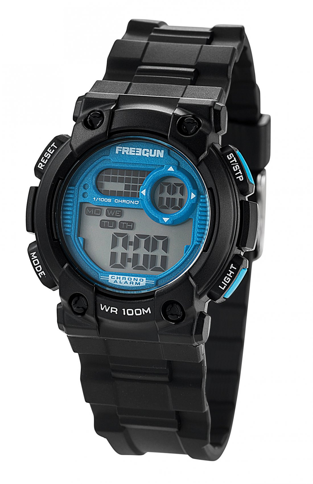 Montre lazer bleue freegun (photo)