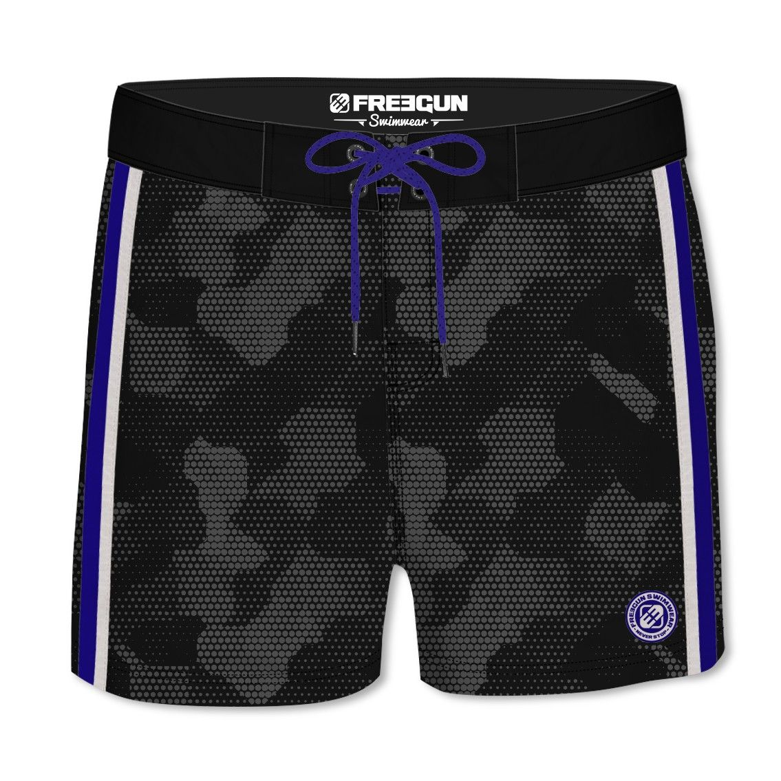 Boardshort homme all over soft touch camouflage