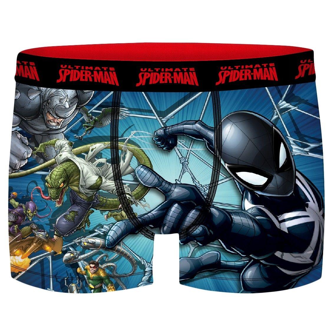 Boxer garçon spider-man fight