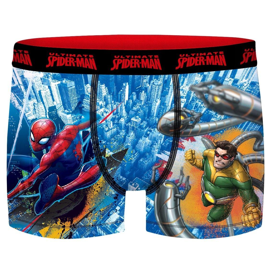 Boxer garçon spider-man vs octopus