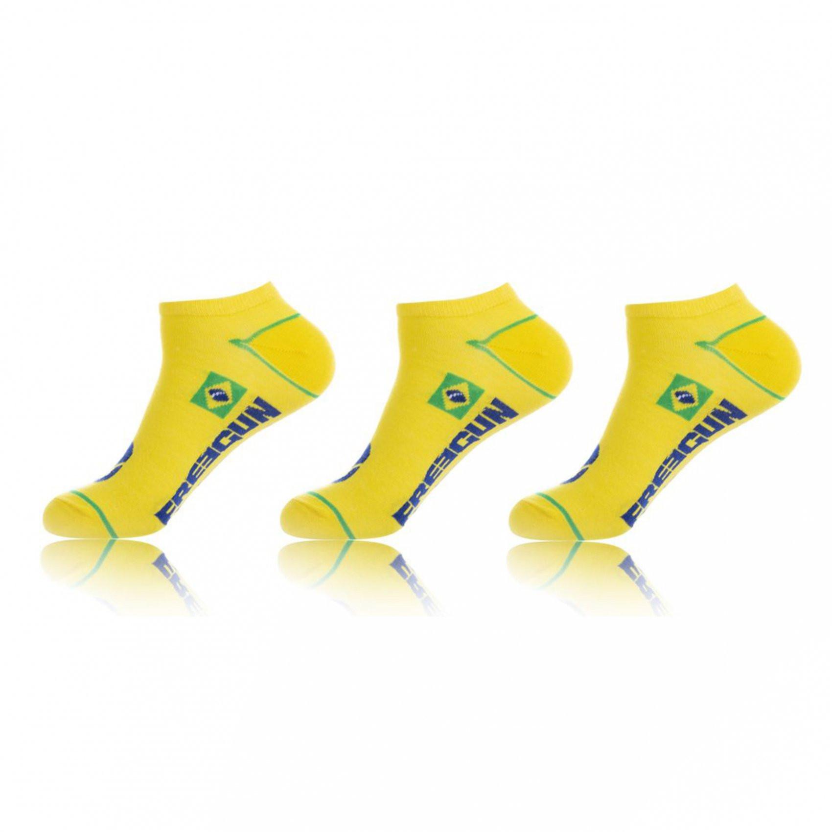 Lot de 3 paires de chaussettes bresil (photo)