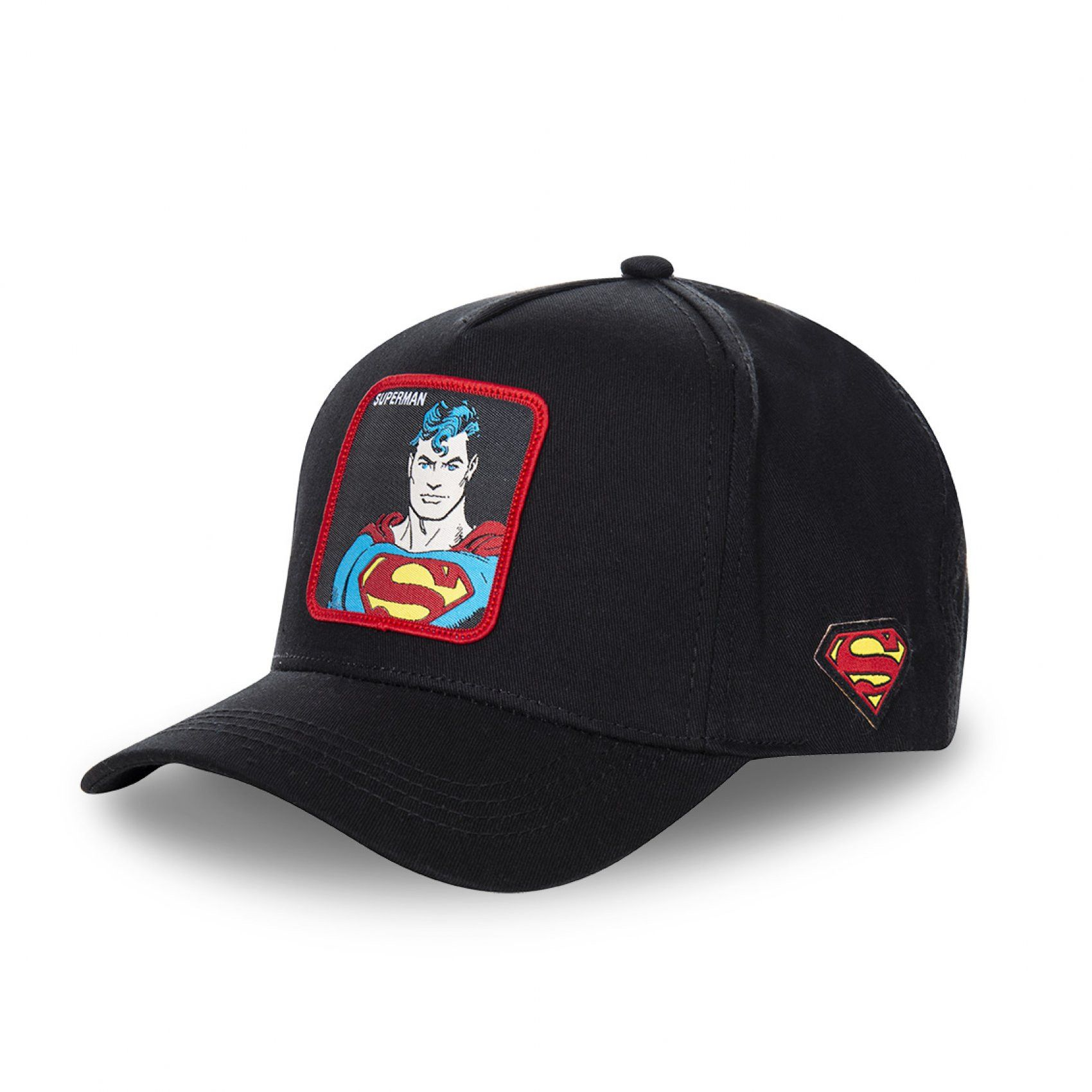Casquette capslab dc comics superman noir (photo)