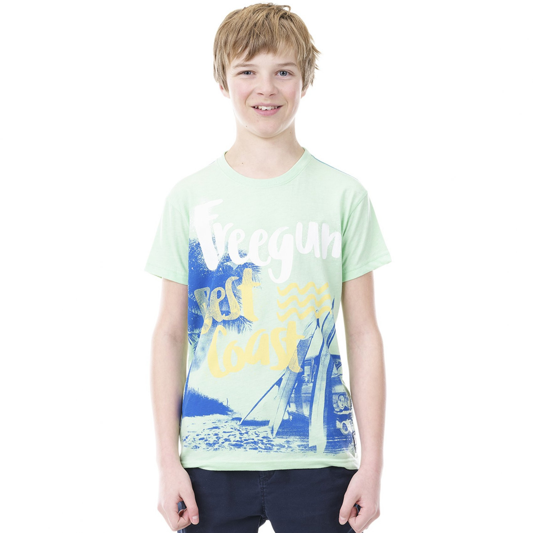 T-shirt garçon sea freegun (photo)