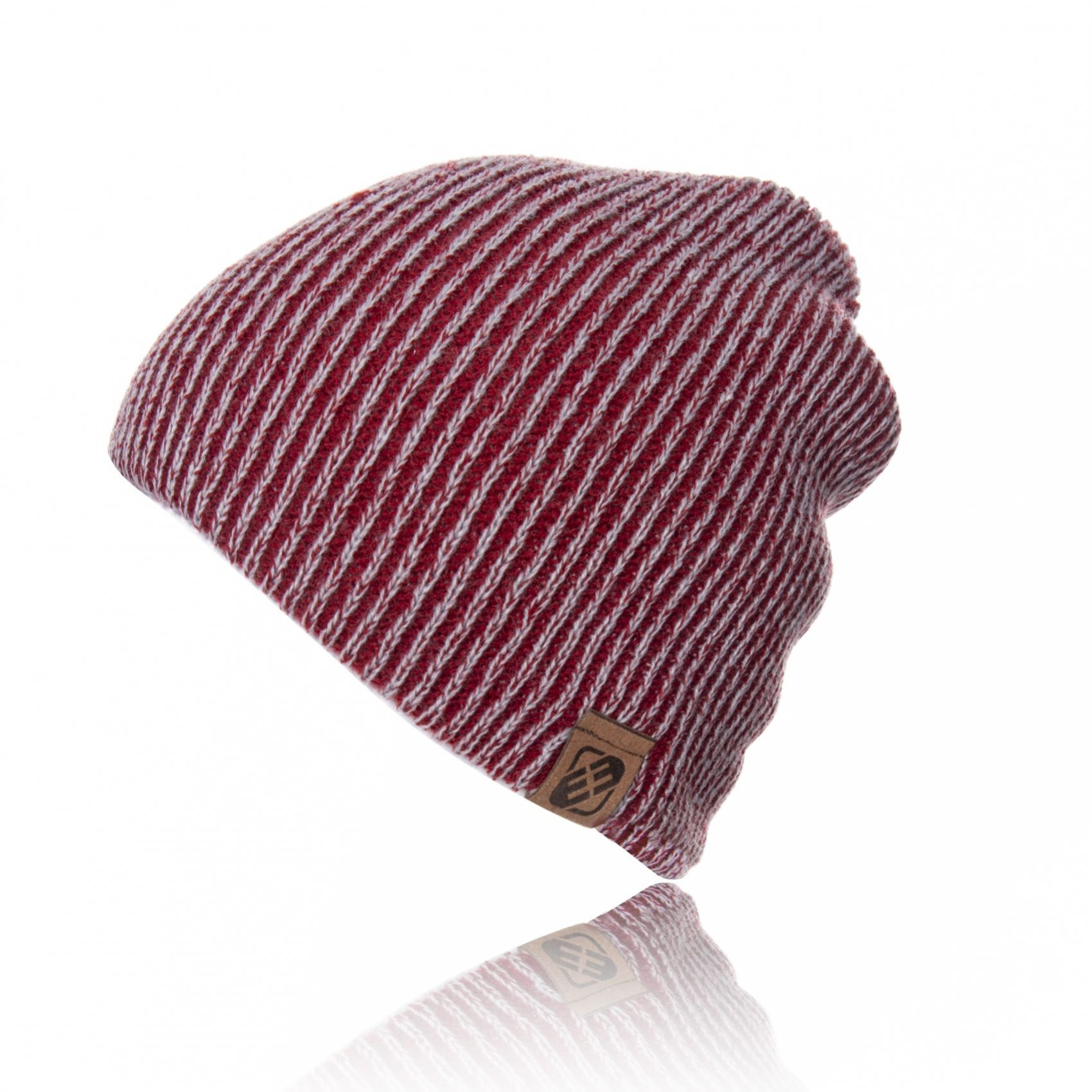 Bonnet bicolore rouge