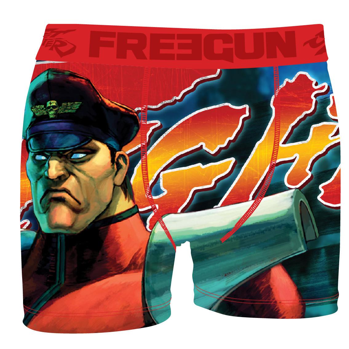 Boxer freegun homme bis street fighter