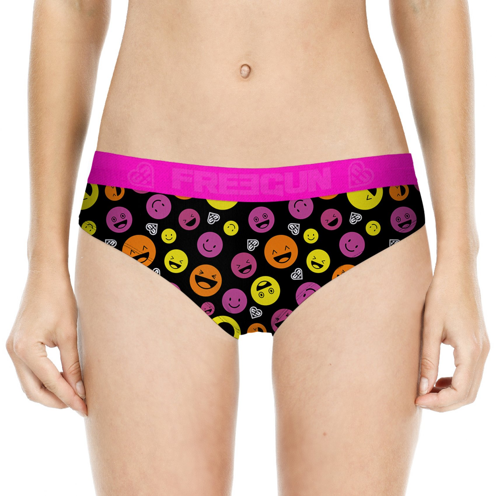 Boxer femme miss freegun emoticone (photo)