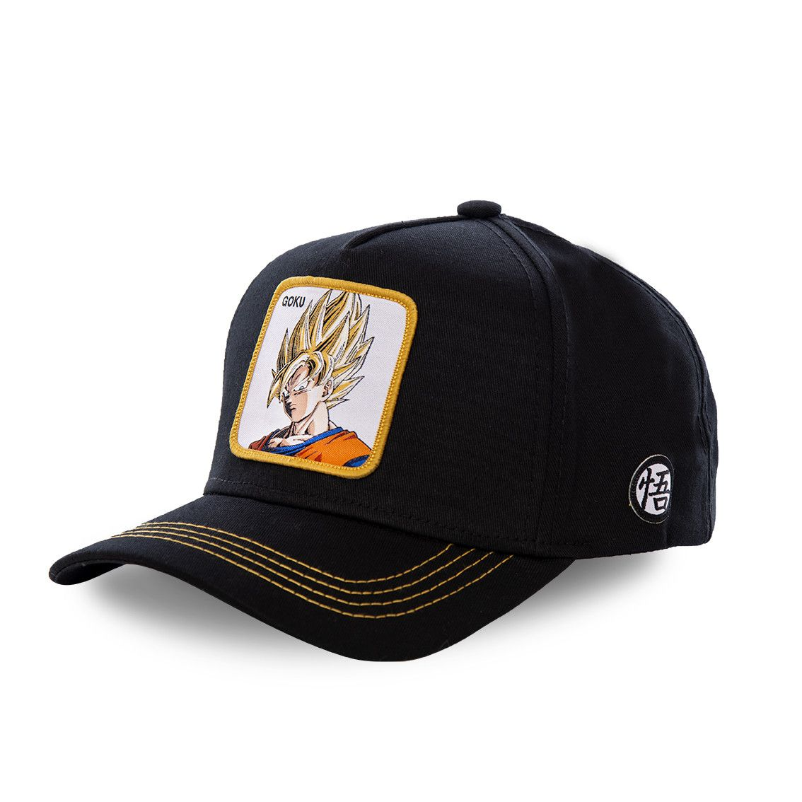 Casquette capslab dragon ball z goku saiyen noir (photo)