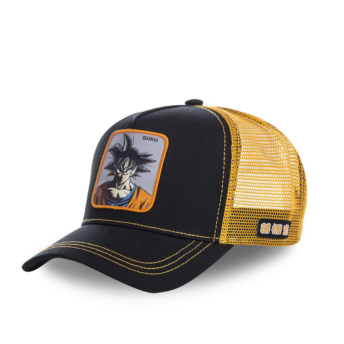 Casquette capslab dragon ball z goku noir (photo)