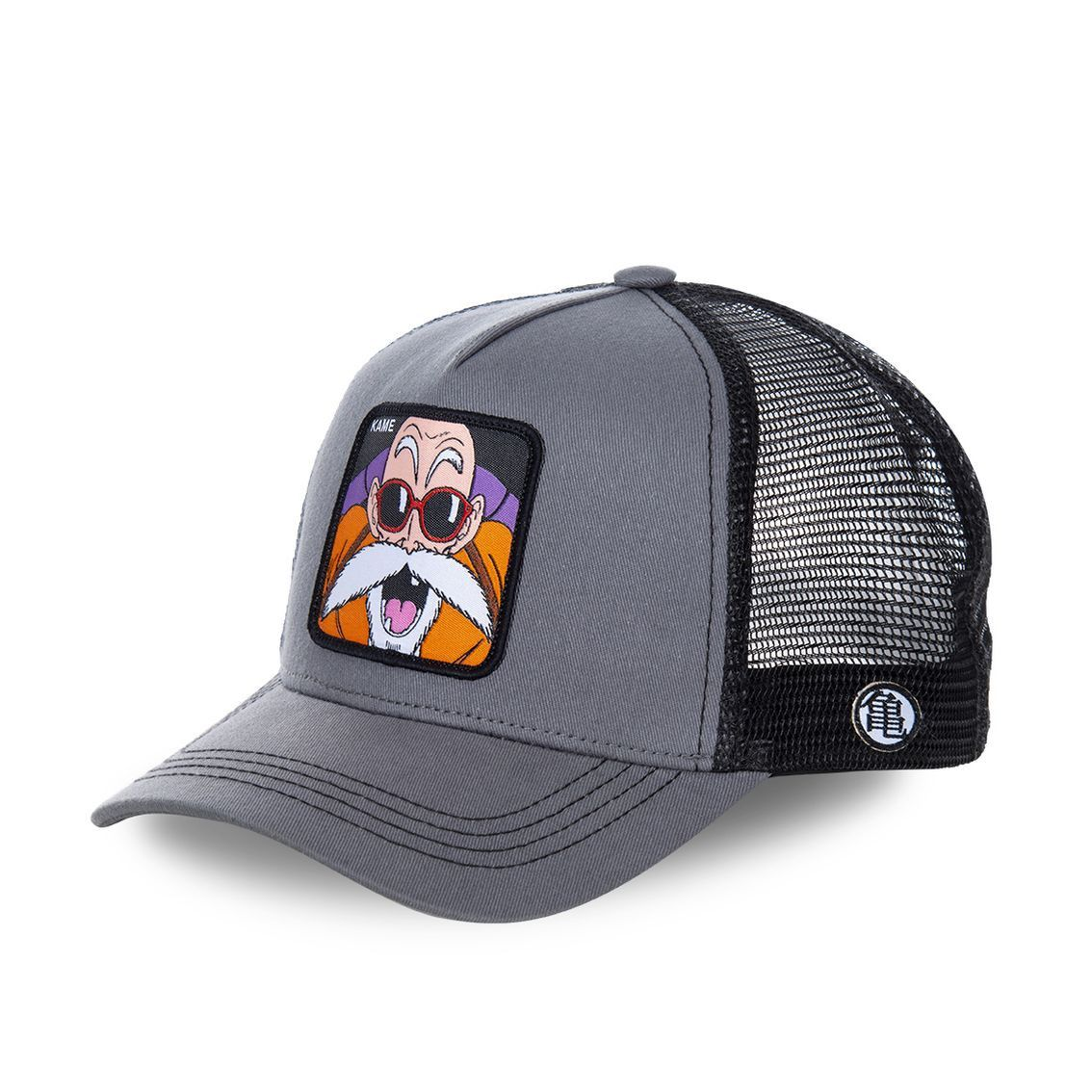 Casquette capslab dragon ball z kame gris (photo)