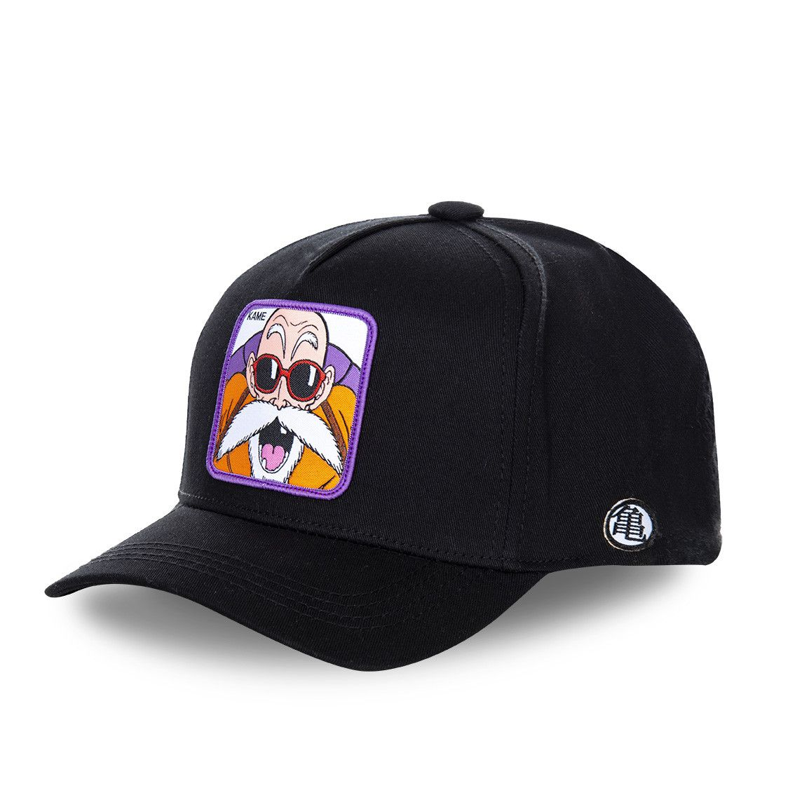 Casquette capslab dragon ball z kame noir (photo)