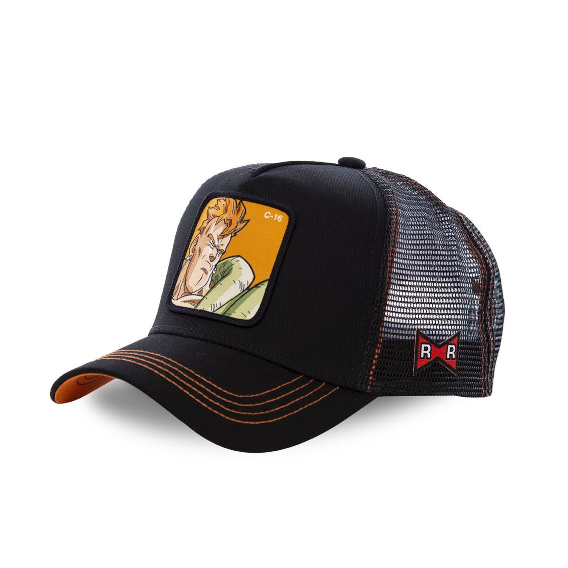 Casquette capslab dragon ball z c-16 noir (photo)