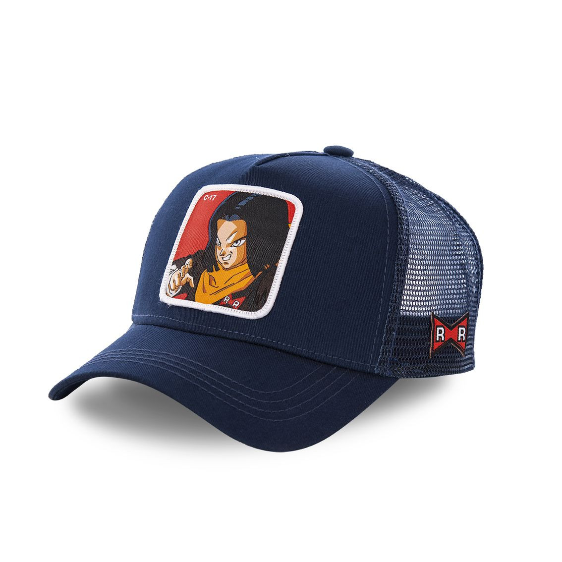 Casquette capslab dragon ball z c-17 bleu marine (photo)