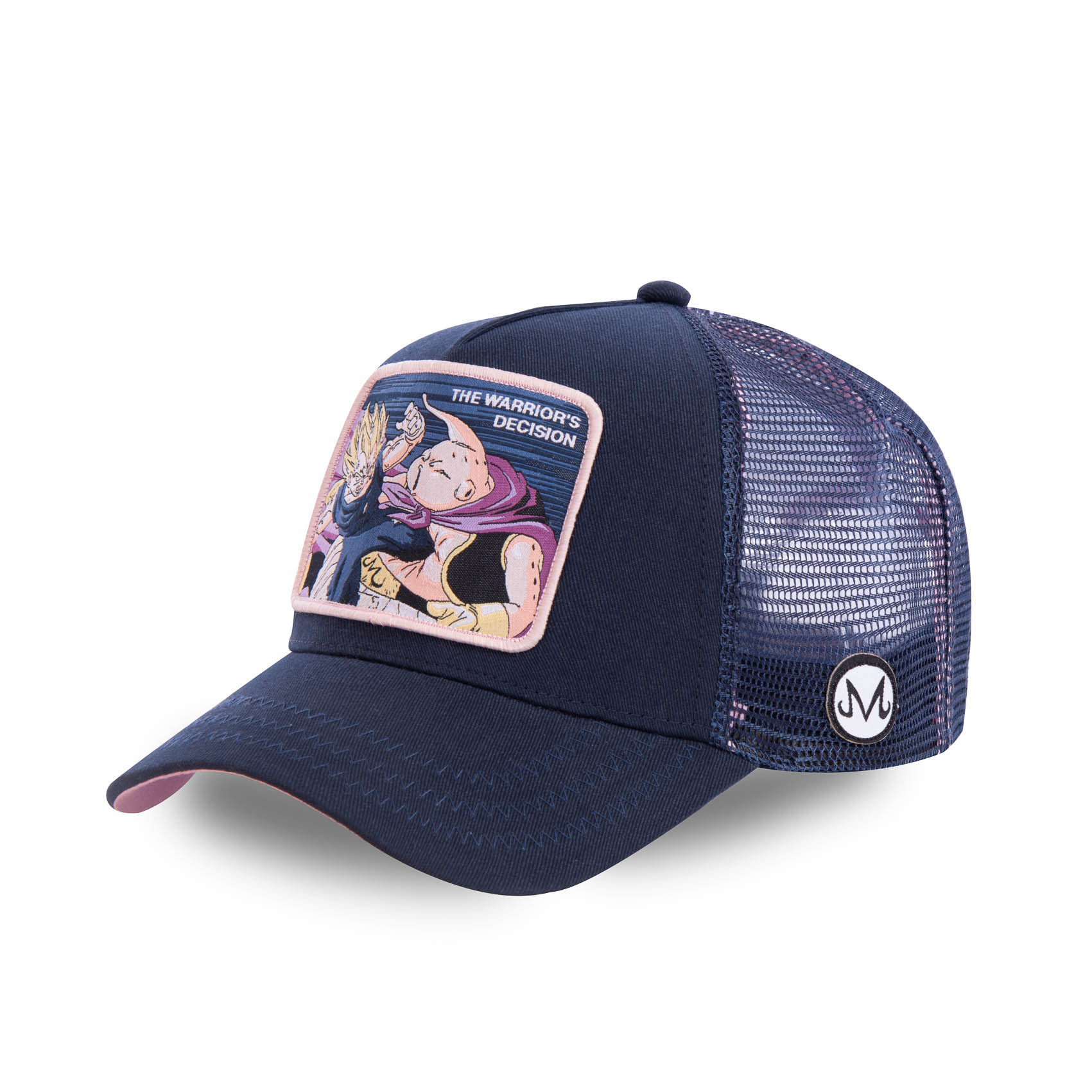 Casquette capslab dragon ball z decision bleu marine (photo)