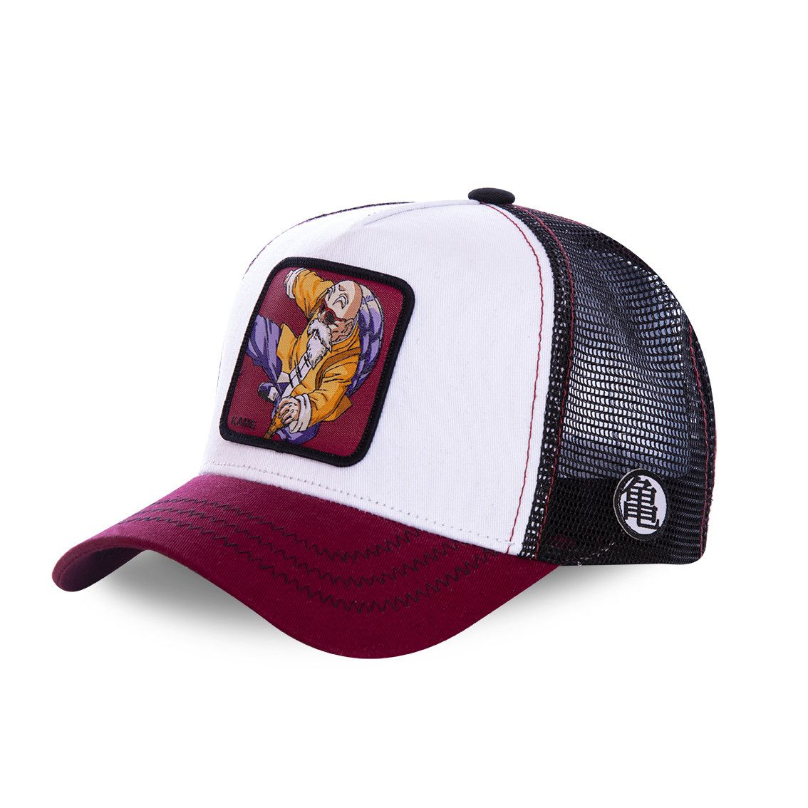 Casquette capslab dragon ball z kame blanc et rouge (photo)