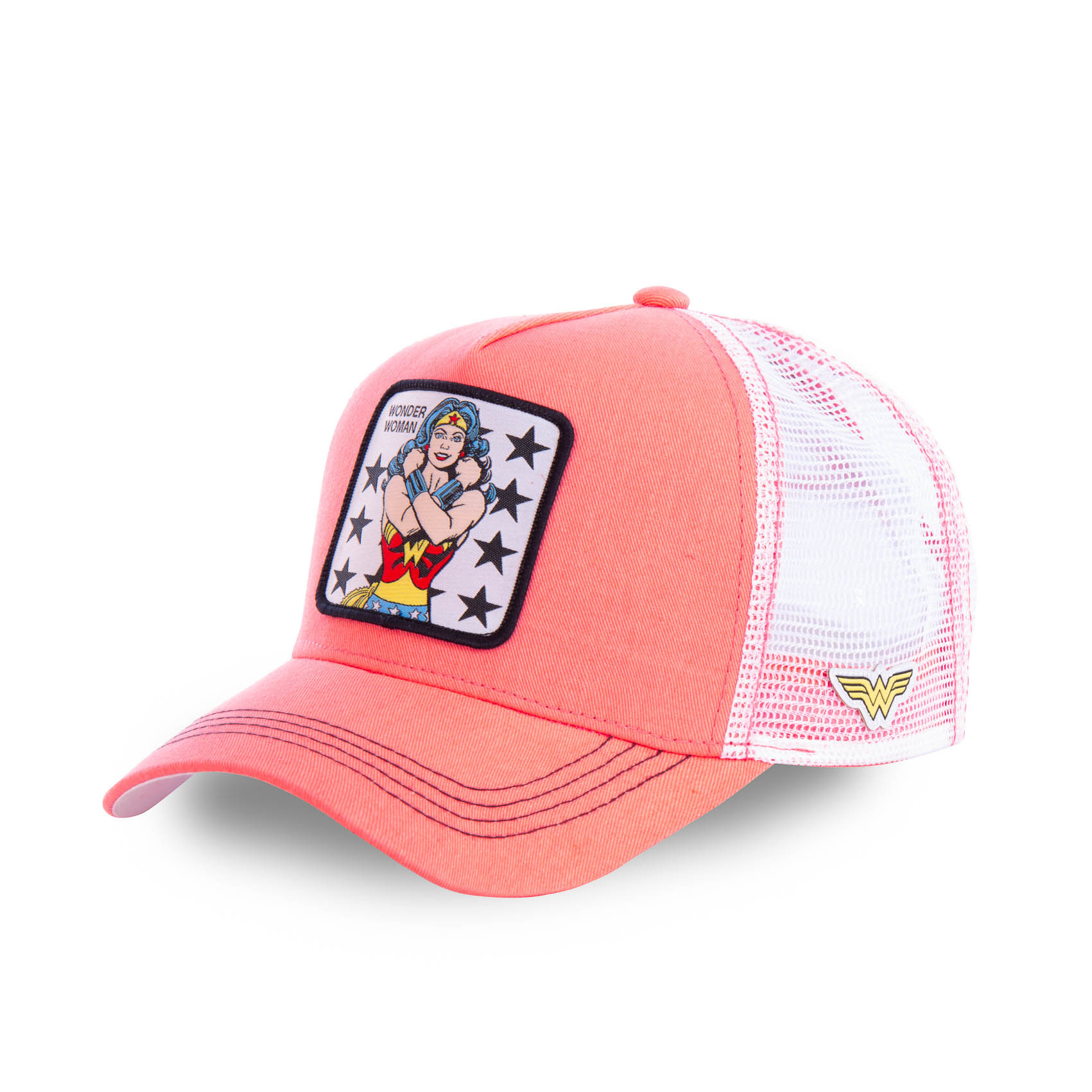 Casquette capslab dc comics wonder woman rose (photo)