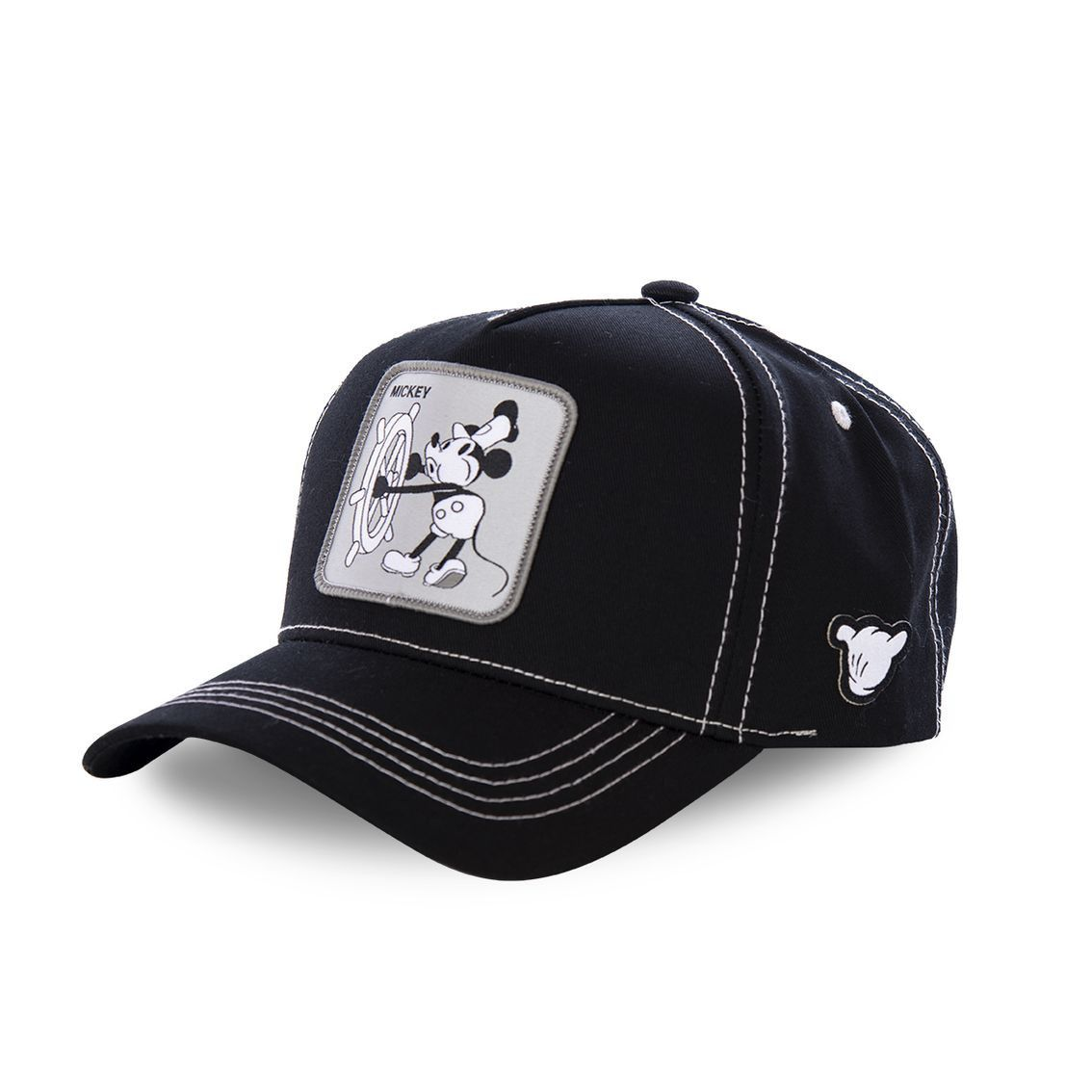 Casquette capslab disney mickey vintage noir (photo)