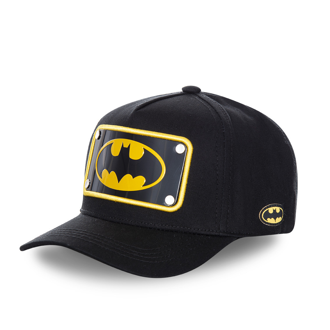 Casquette capslab dc comics batman noir (photo)