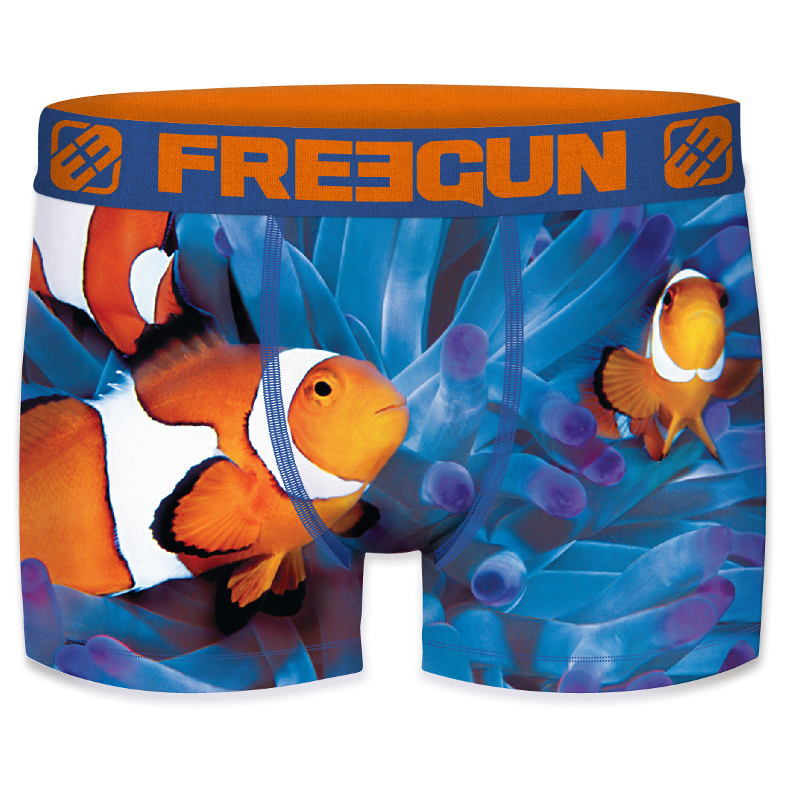 Boxer enfant freegun nemo bleu (photo)