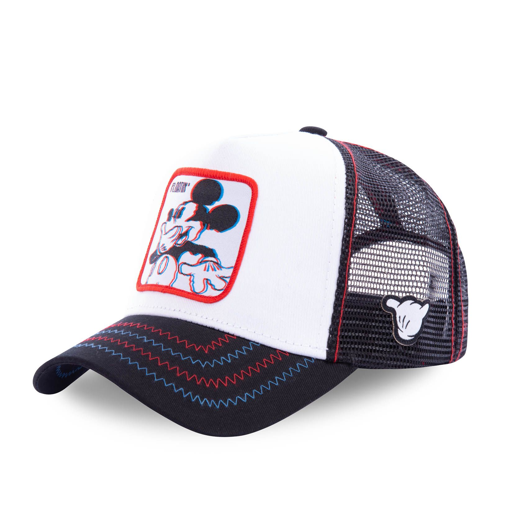 Casquette capslab disney mickey floatin* blanc (photo)