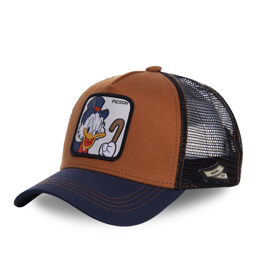 Casquette capslab disney picsou marron (photo)