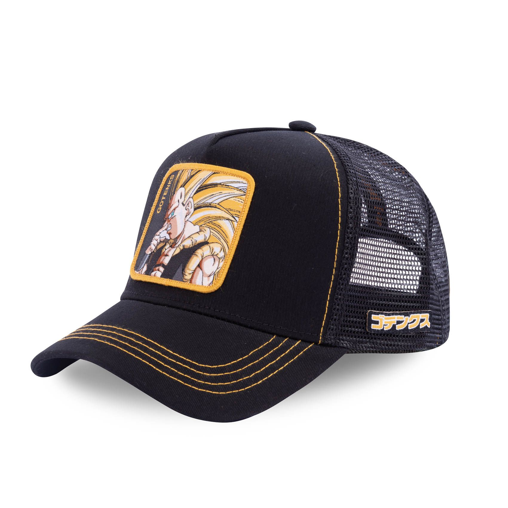 Casquette capslab dragon ball z goku super saiyen noir (photo)