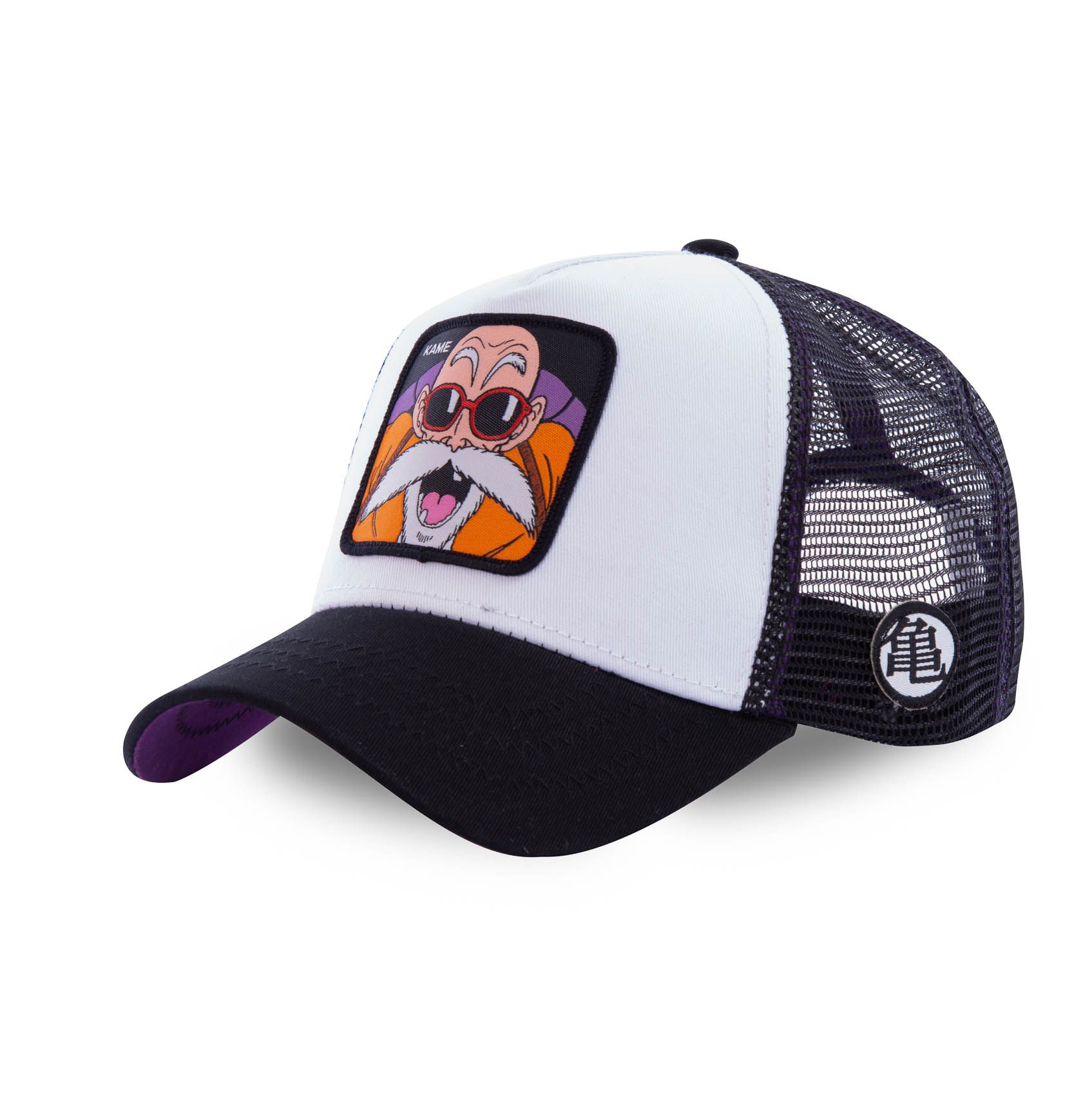 Casquette capslab dragon ball z kame blanc et noir (photo)