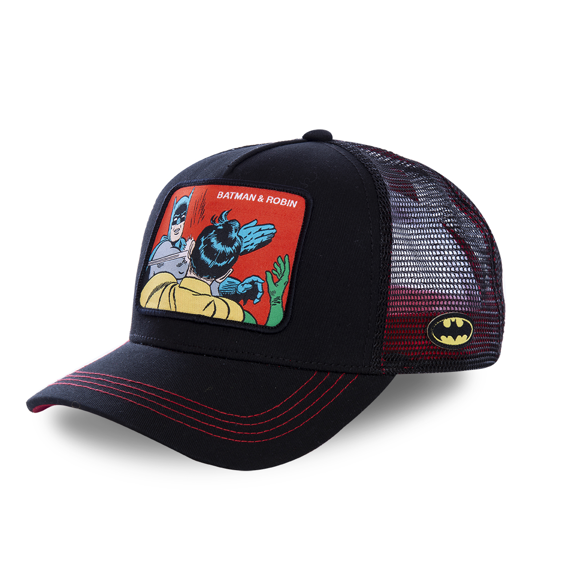 Casquette capslab dc comics batman & robin noir (photo)
