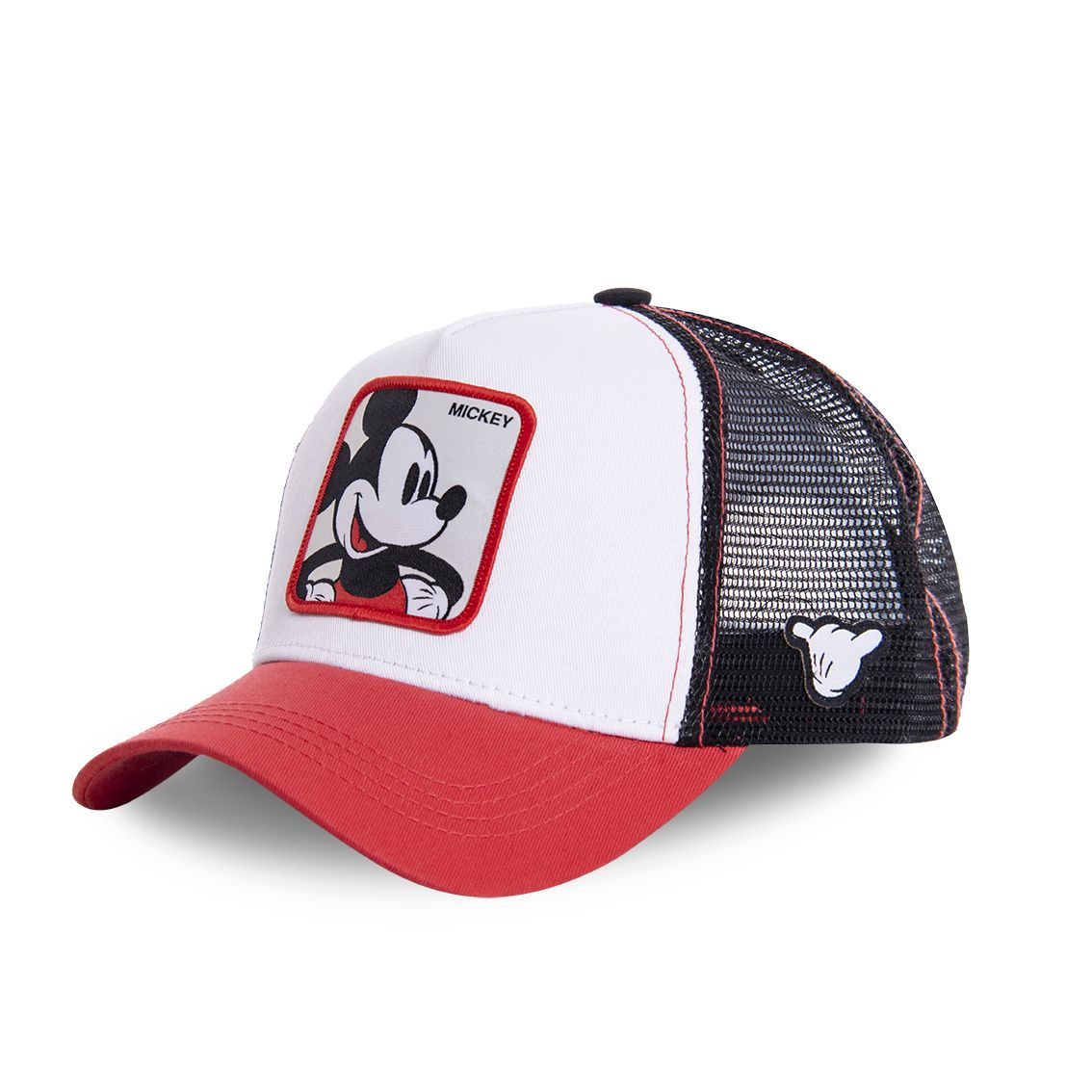 Casquette capslab disney mickey blanc et rouge (photo)