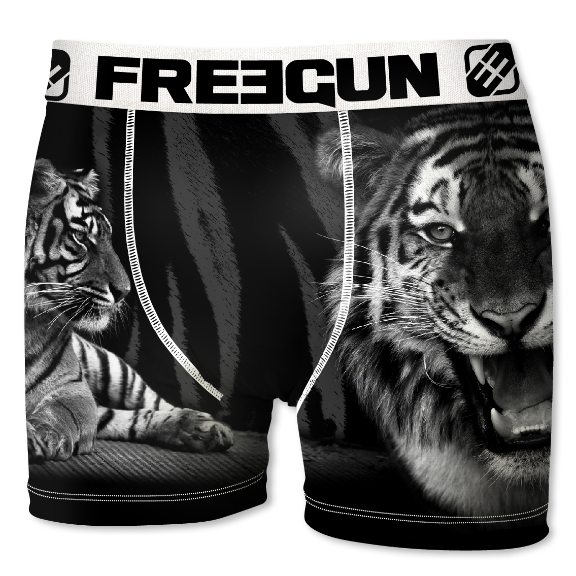 Boxer enfant freegun tigre noir (photo)