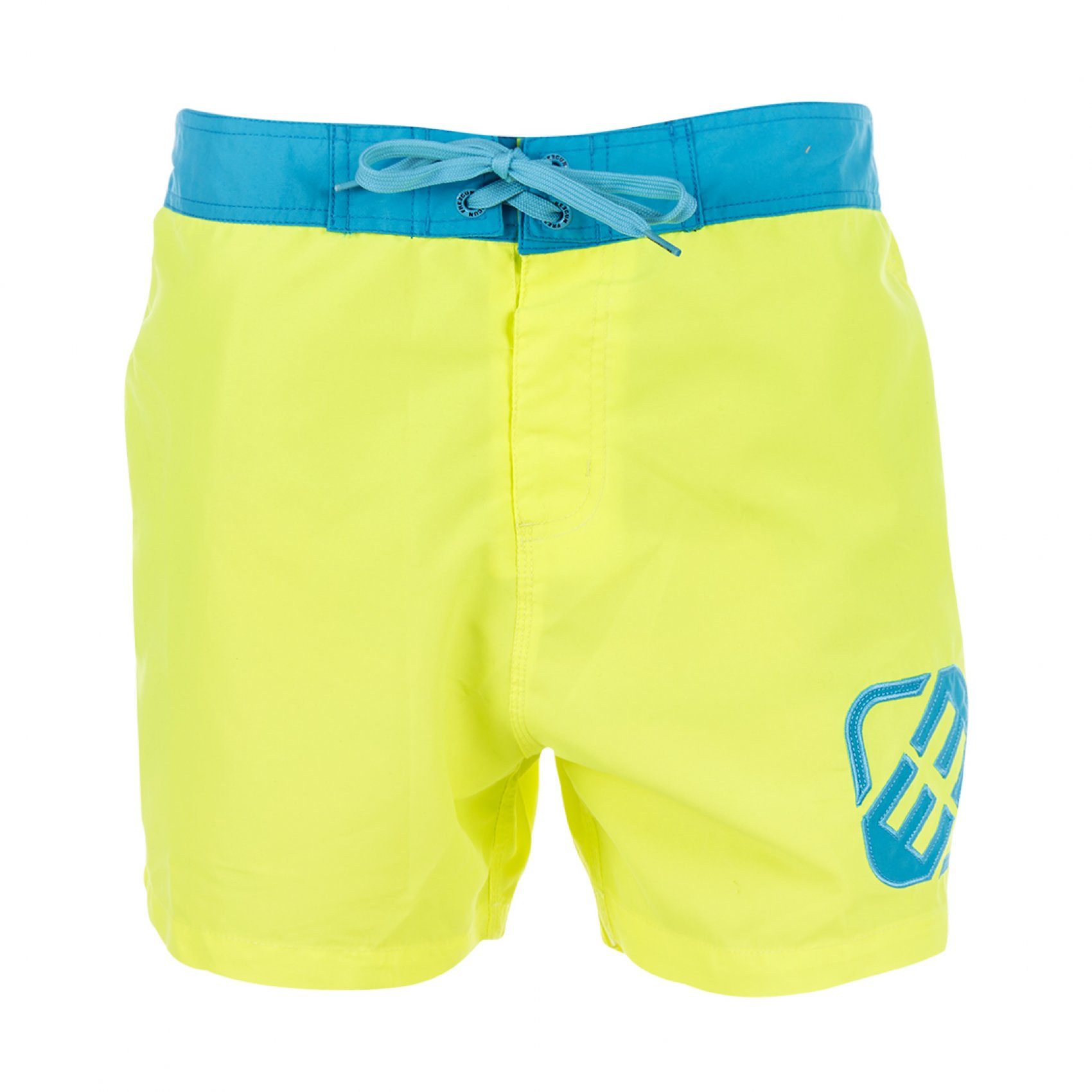Boardshort court freegun jaune homme (photo)