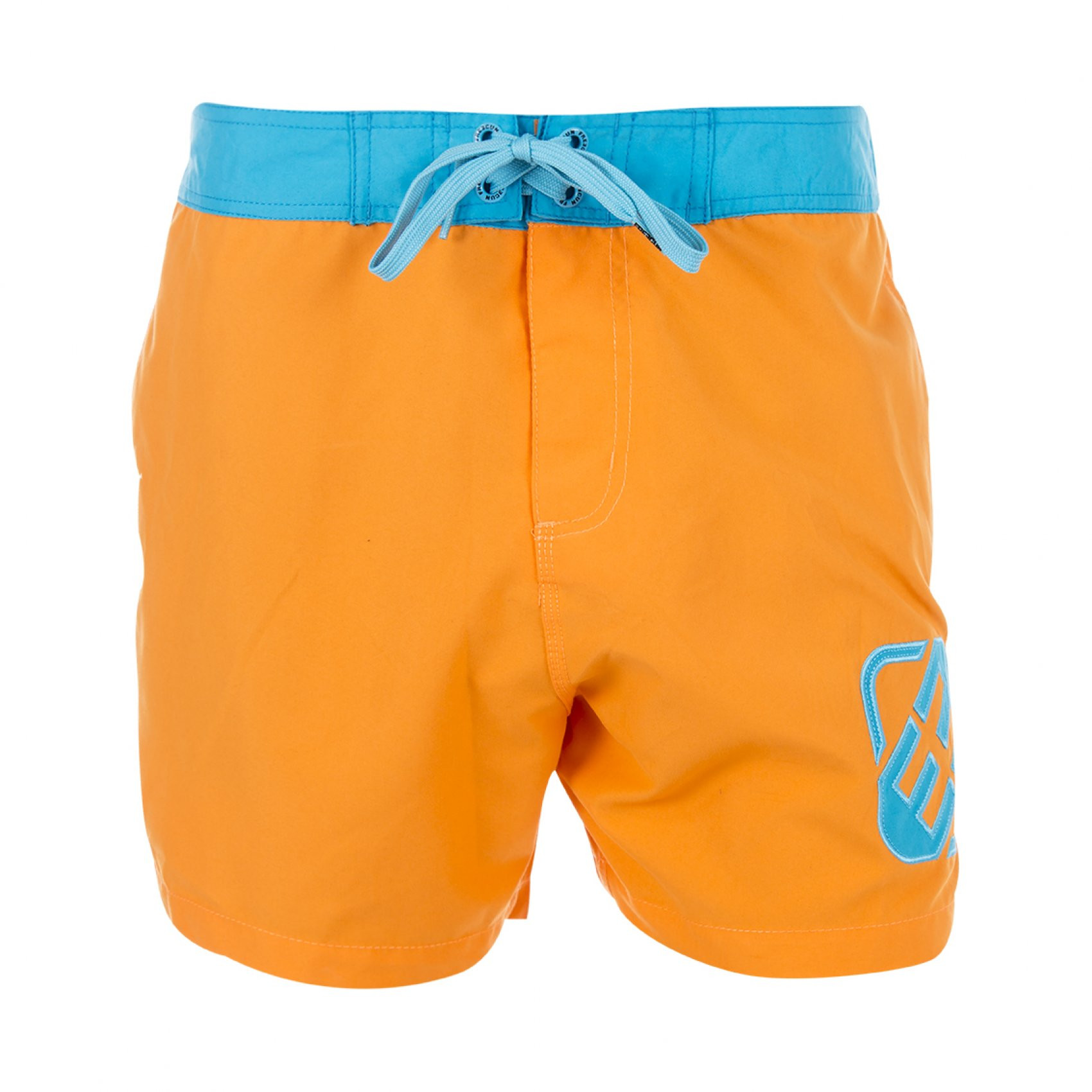 Boardshort court freegun orange homme (photo)