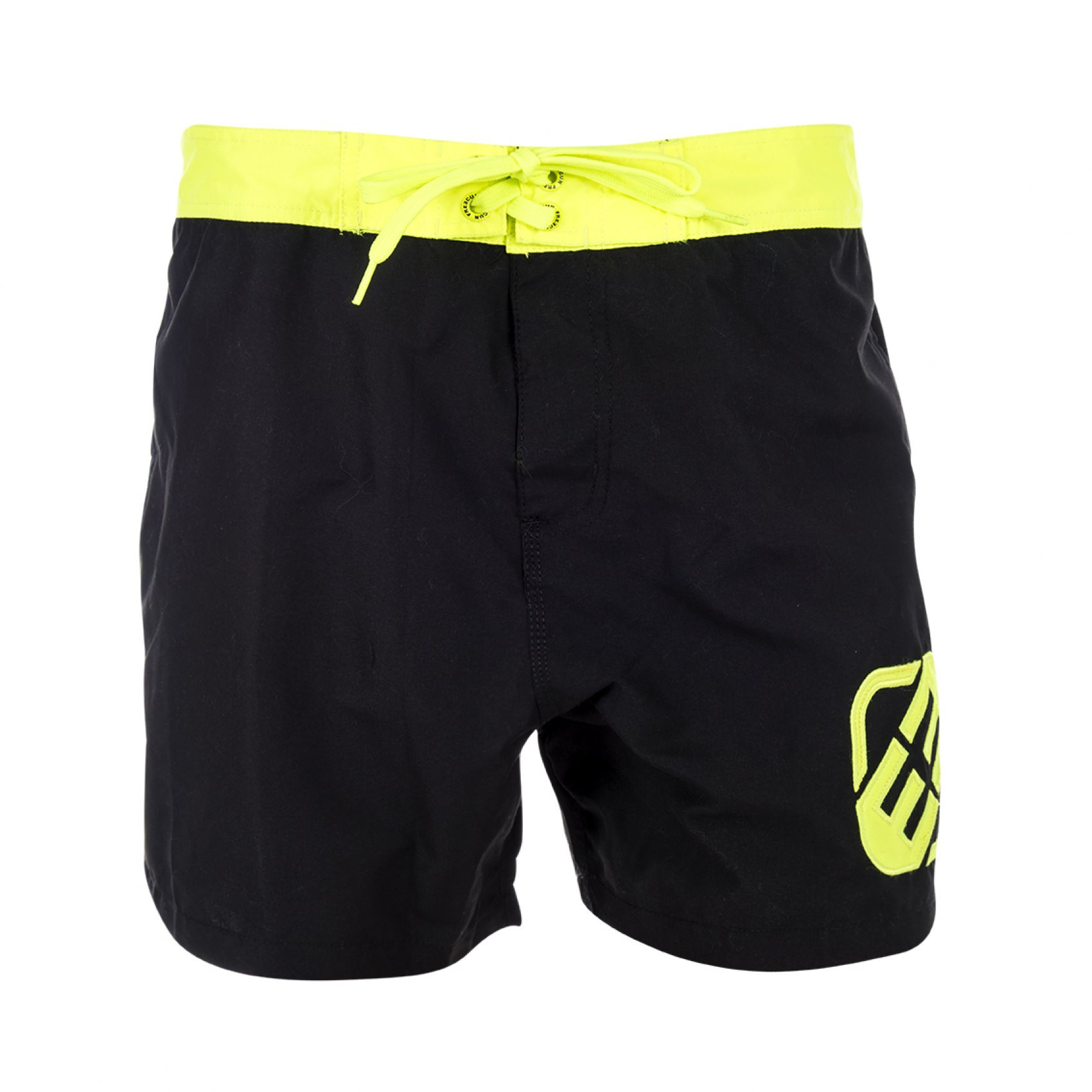 Boardshort court freegun boyz jaune (photo)