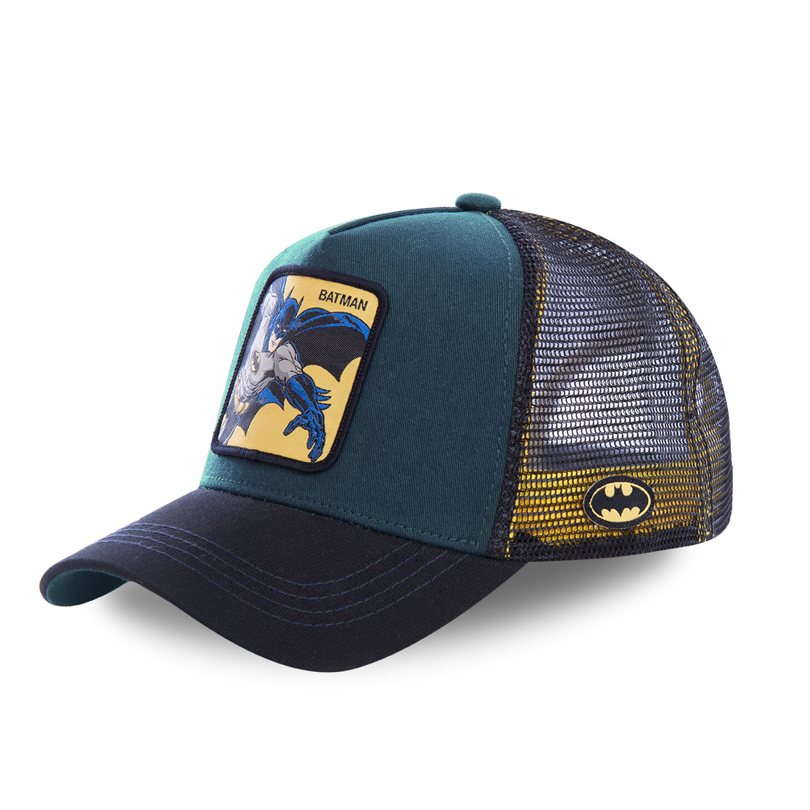 Casquette capslab dc comics batman bleu marine (photo)