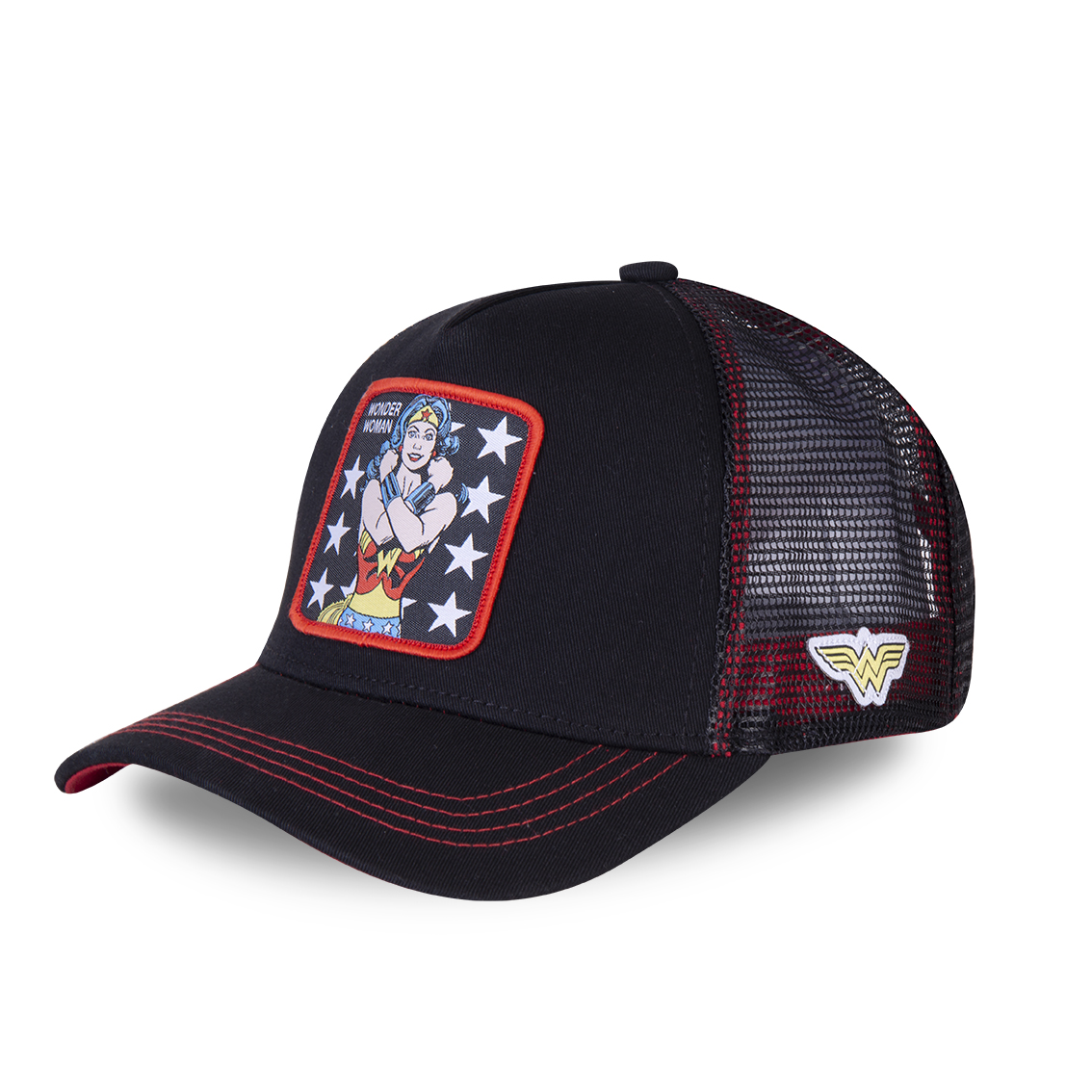 Casquette capslab dc comics wonder woman noir (photo)