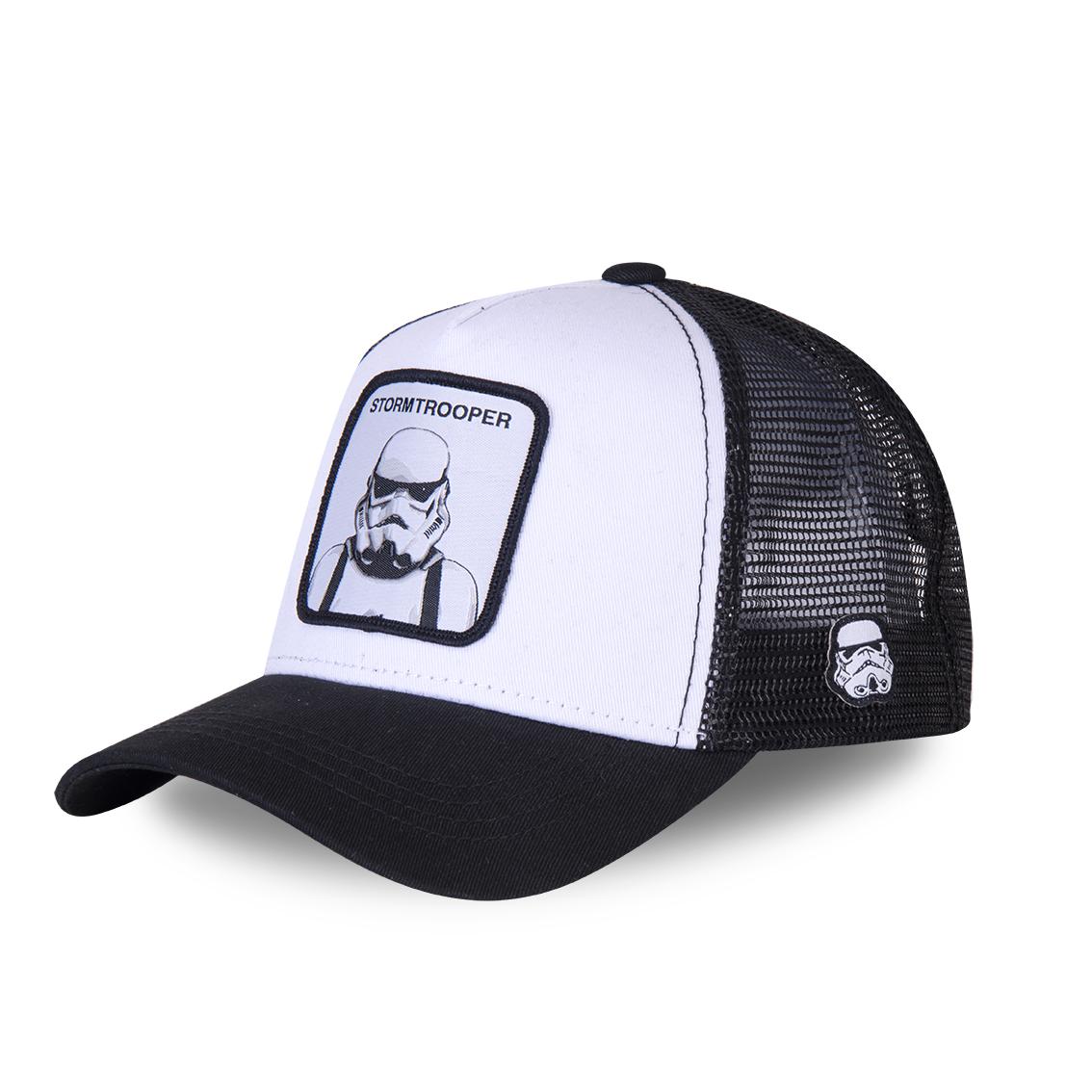 Casquette capslabs stormtrooper blanc et noir