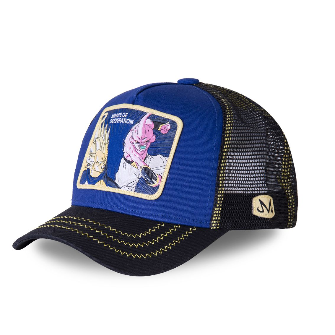 Casquette capslab dragon ball z desperation bleu (photo)