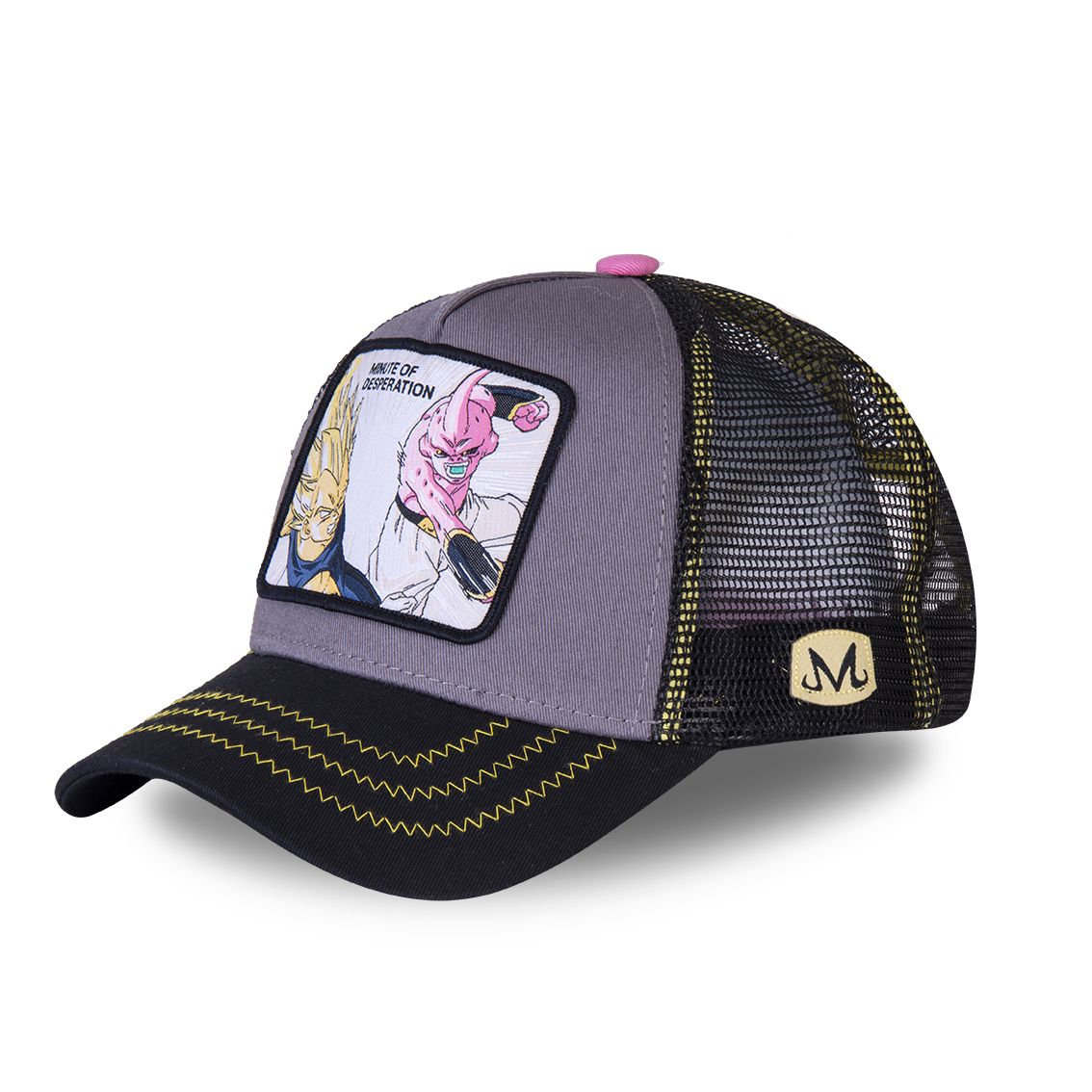 Casquette capslab dragon ball z desperation gris (photo)