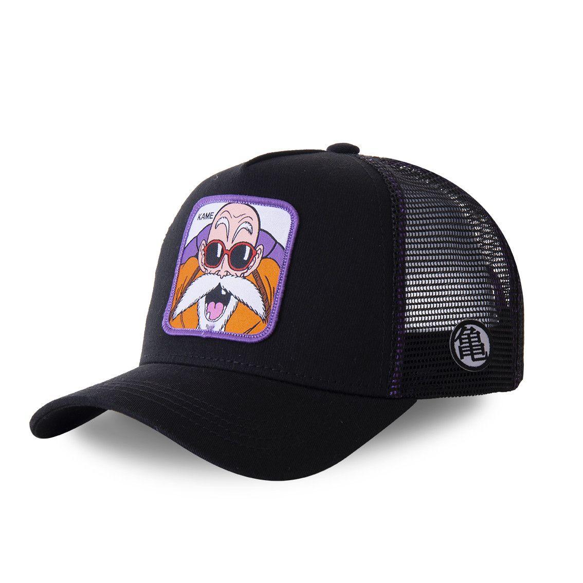 Casquette trucker capslab dragon ball z noir et violet