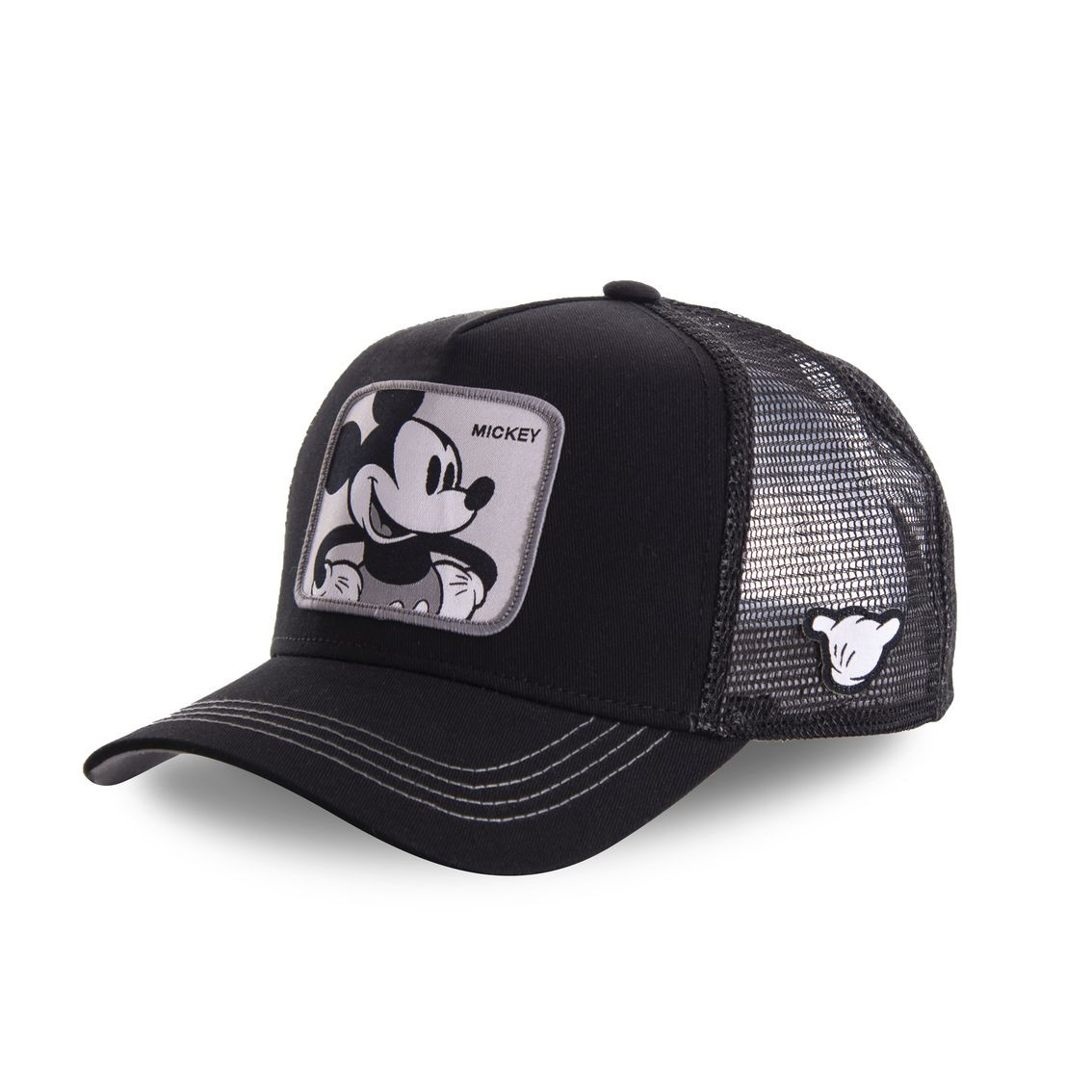 Casquette capslab disney mickey noir (photo)