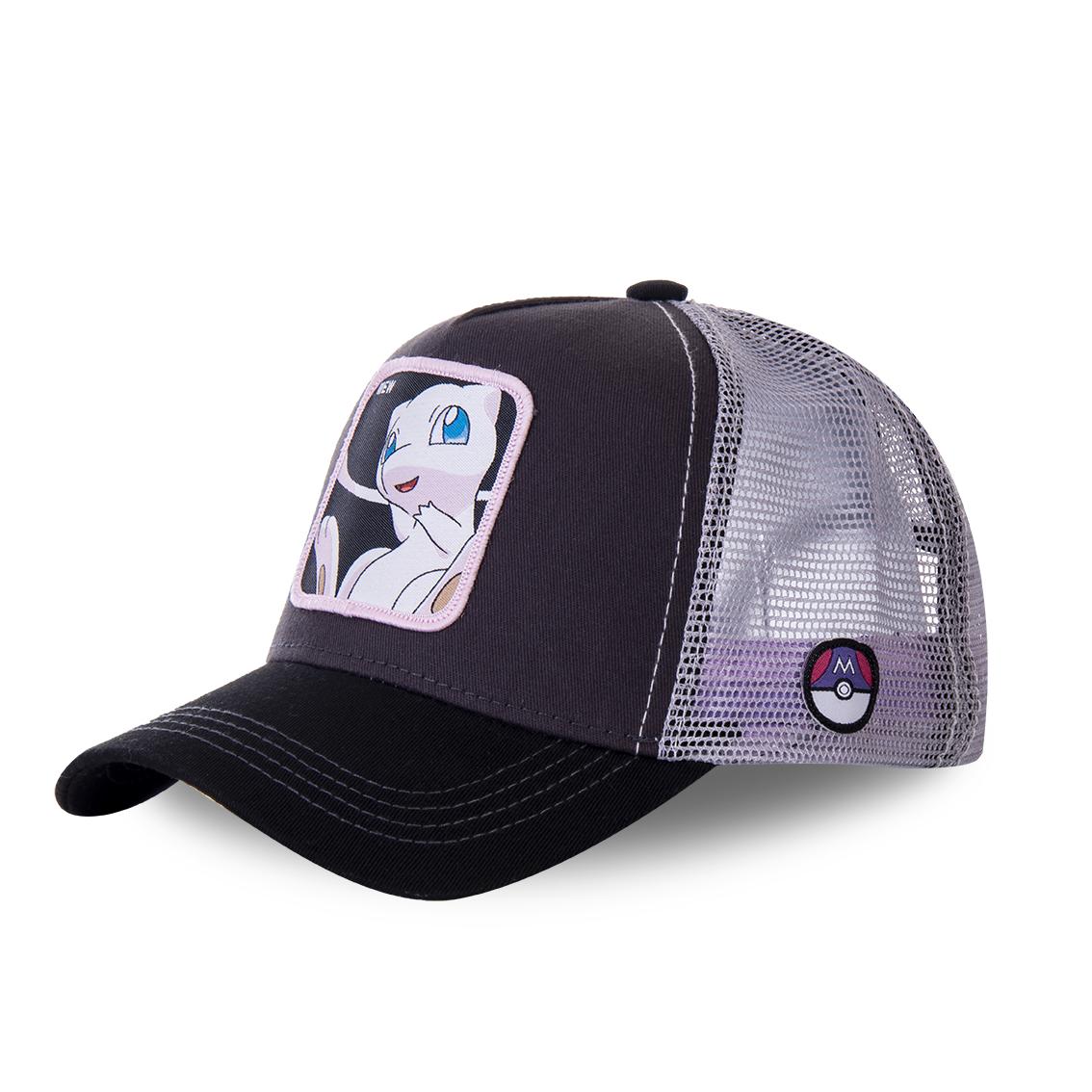 Casquette capslab trucker pokemon mew gris
